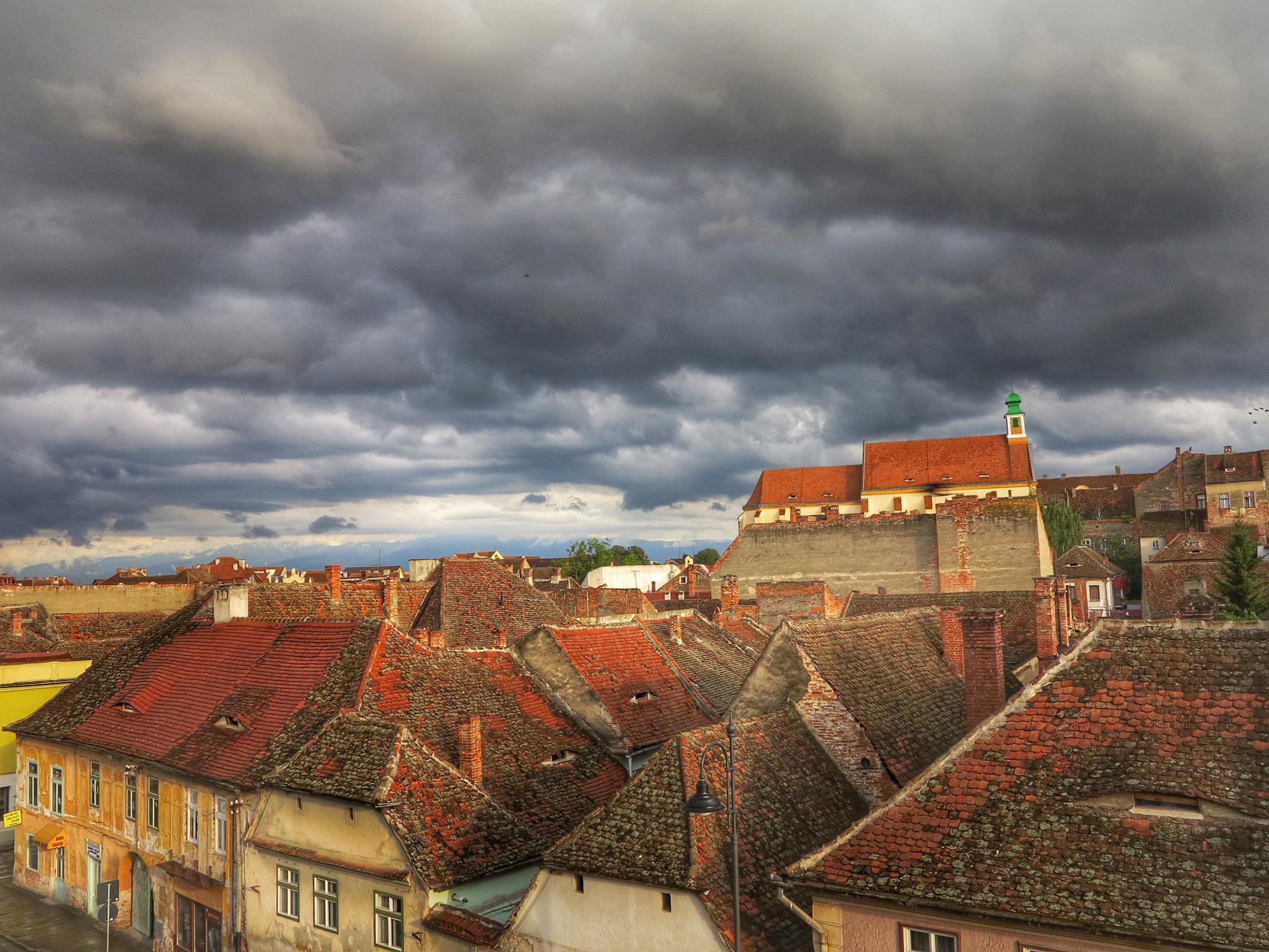 Sun after Rain in Sibiu  by Adi Gli