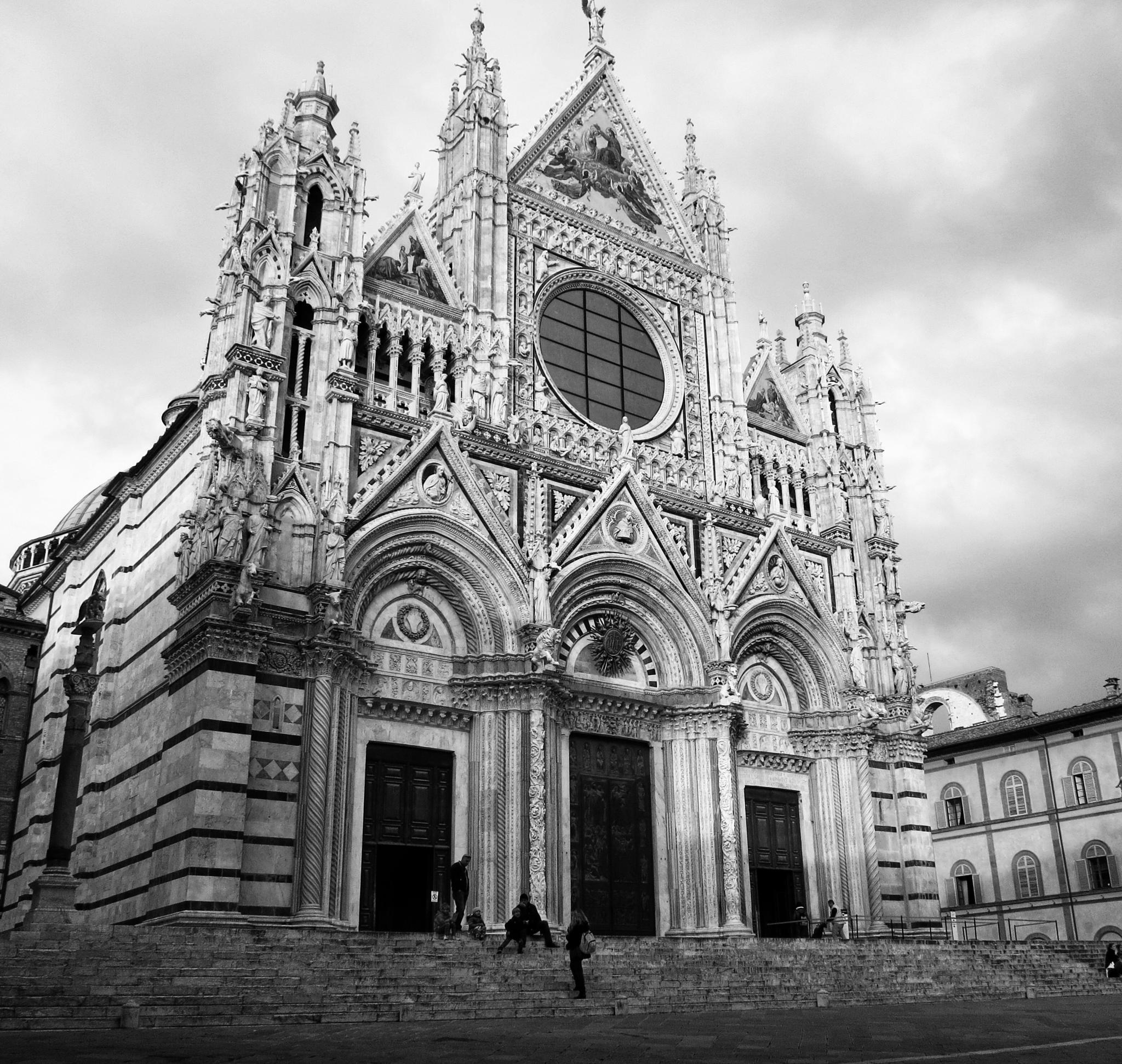 Duomo Santa Maria Siena by Adi Gli