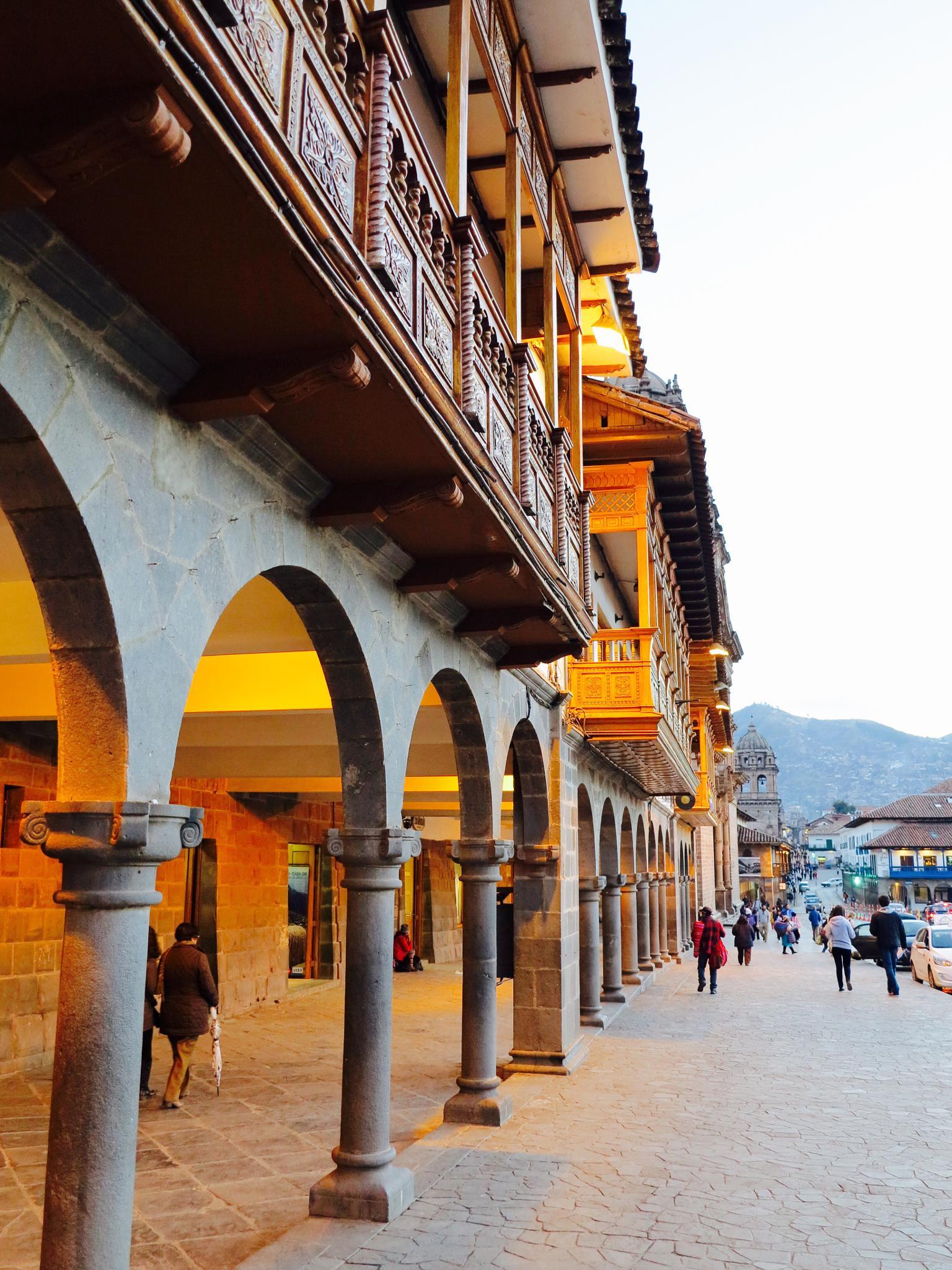 Cusco by night I by Adi Gli