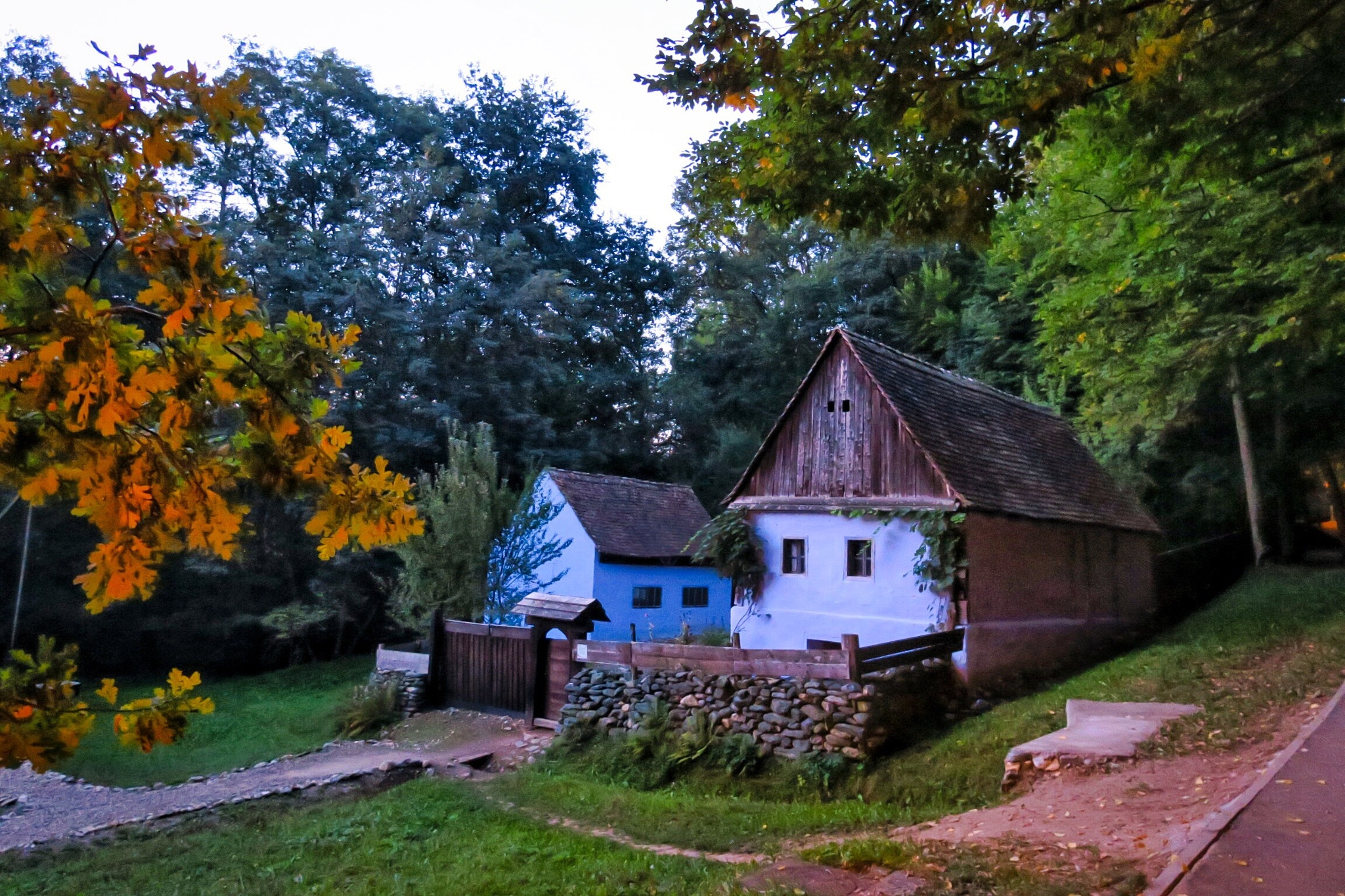 Traditional home. It's 7 am! by Adi Gli