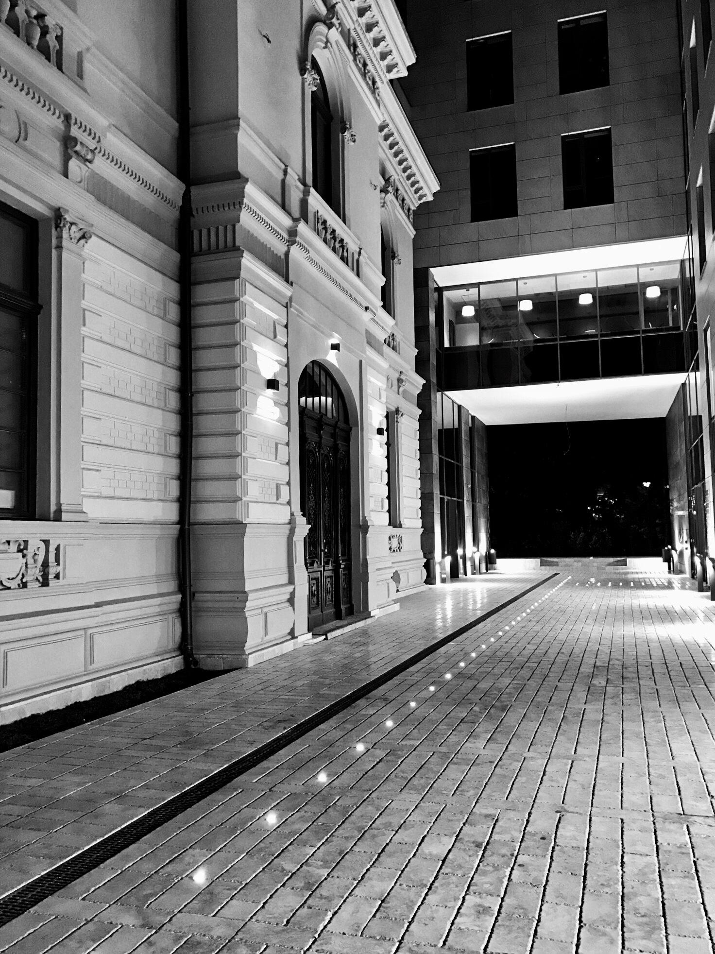 Old and new architecture in B&W by Adi Gli