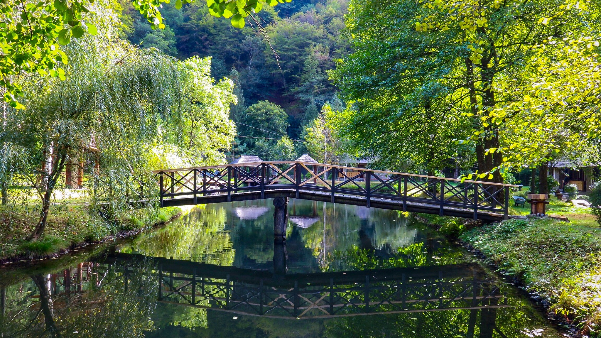 Silence & a bridge  by Adi Gli