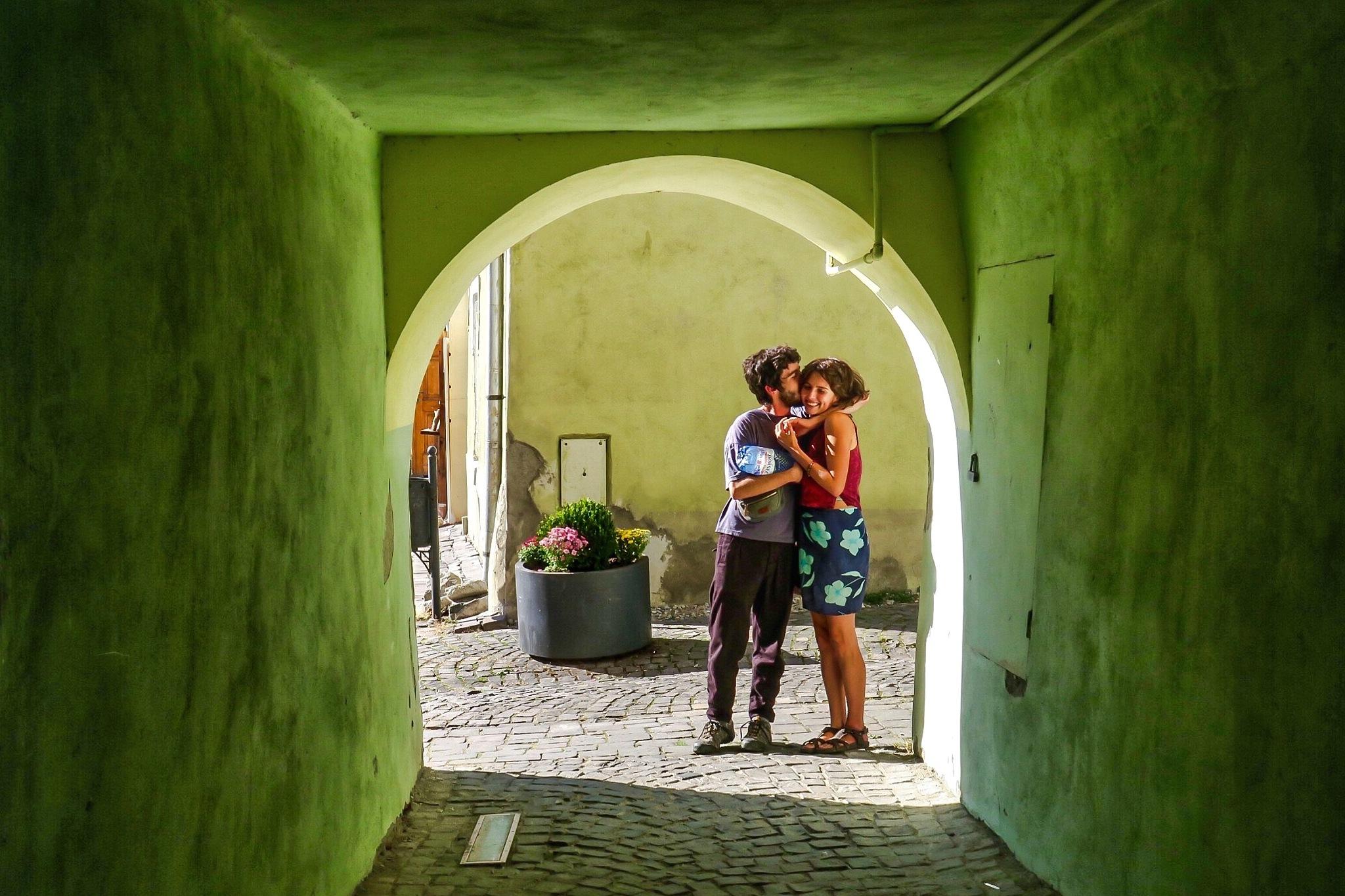 The kiss  by Adi Gli