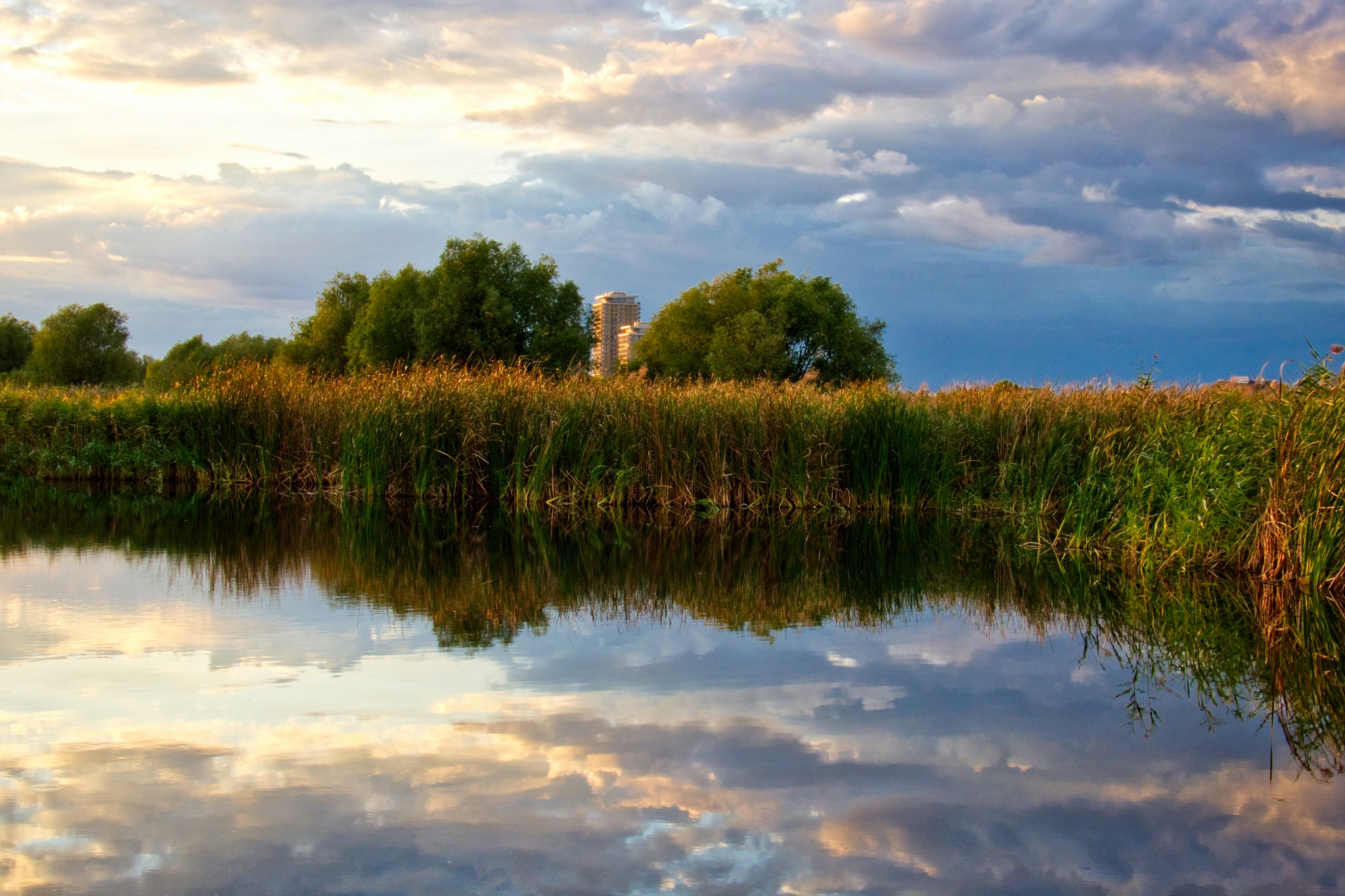 Mirror in October by Adi Gli