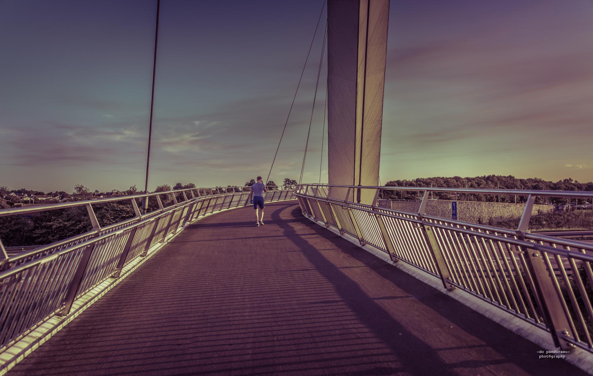 man/bridge/sunset by do pandurasu photography
