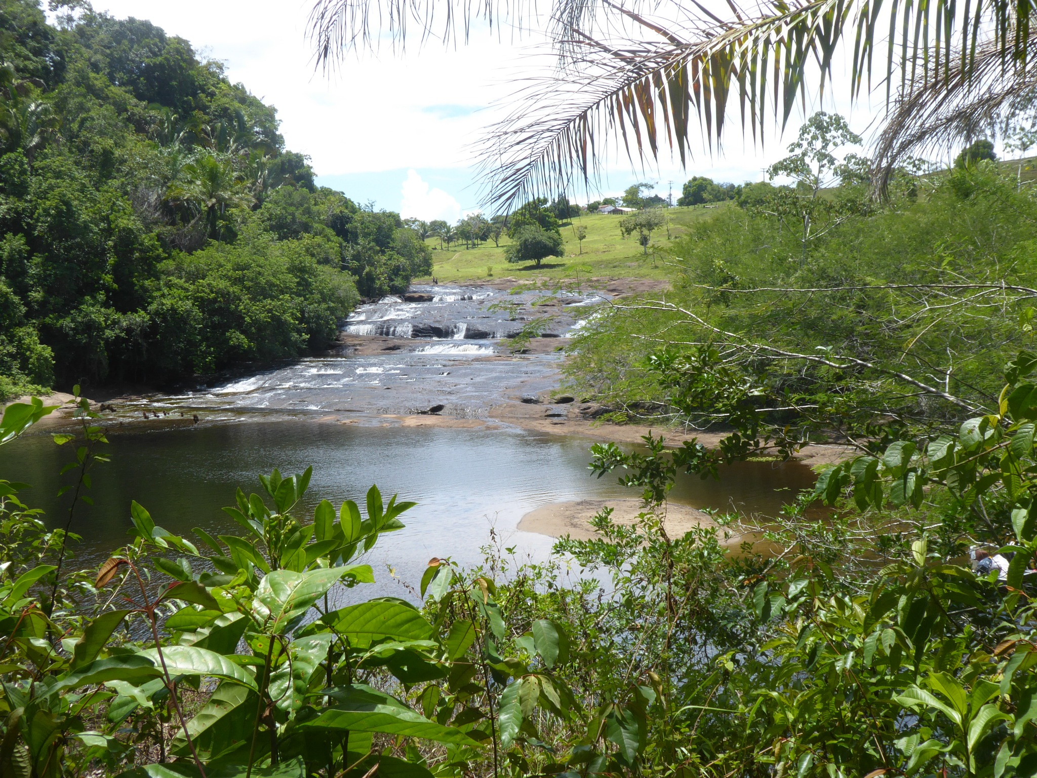 Photo in Landscape #waterfall #cachoeira #trees #lagoa encantada #bahia #brazil