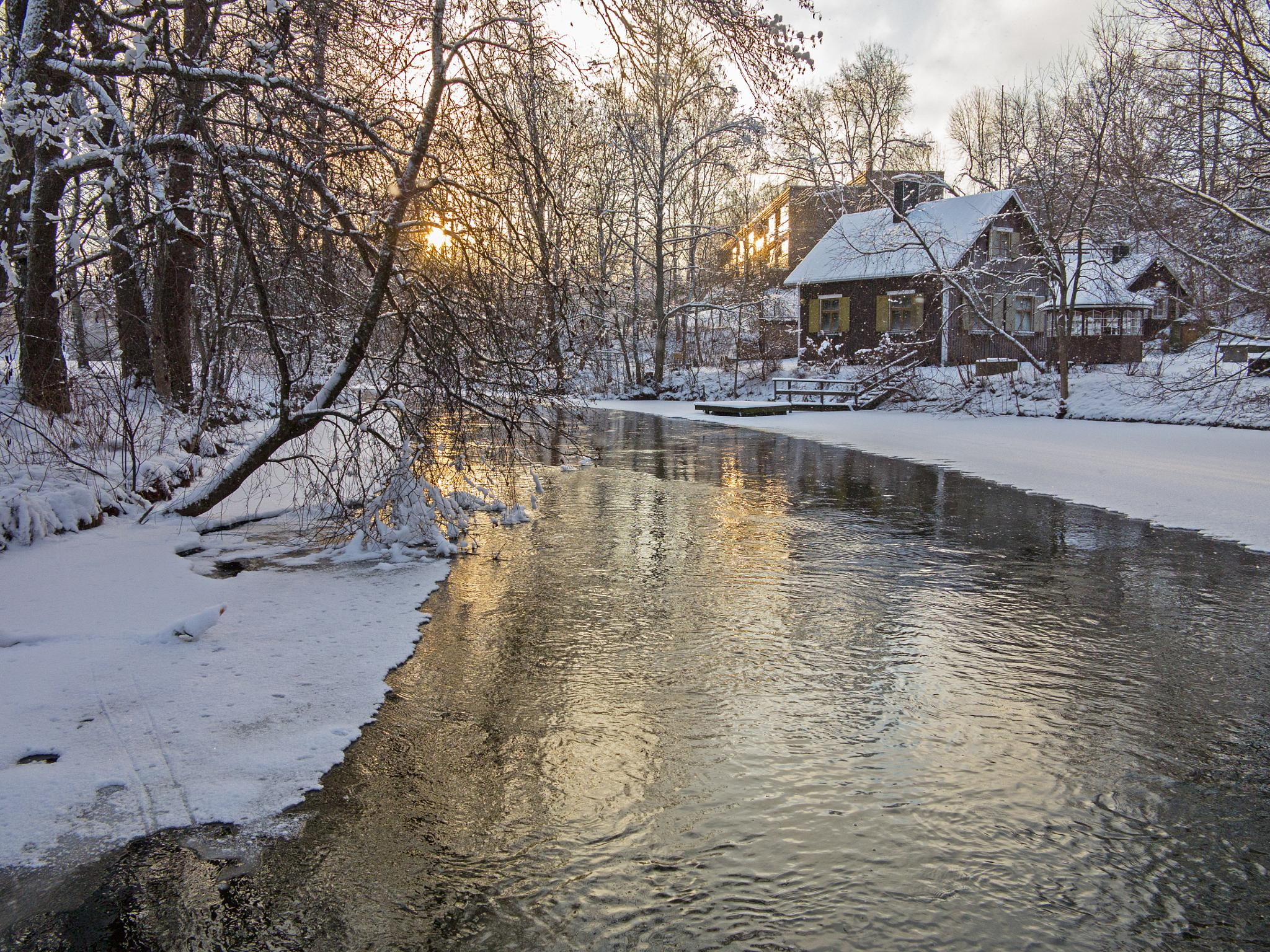 Golden river by HeikkiHAtMAN PHOTOGRAPHY