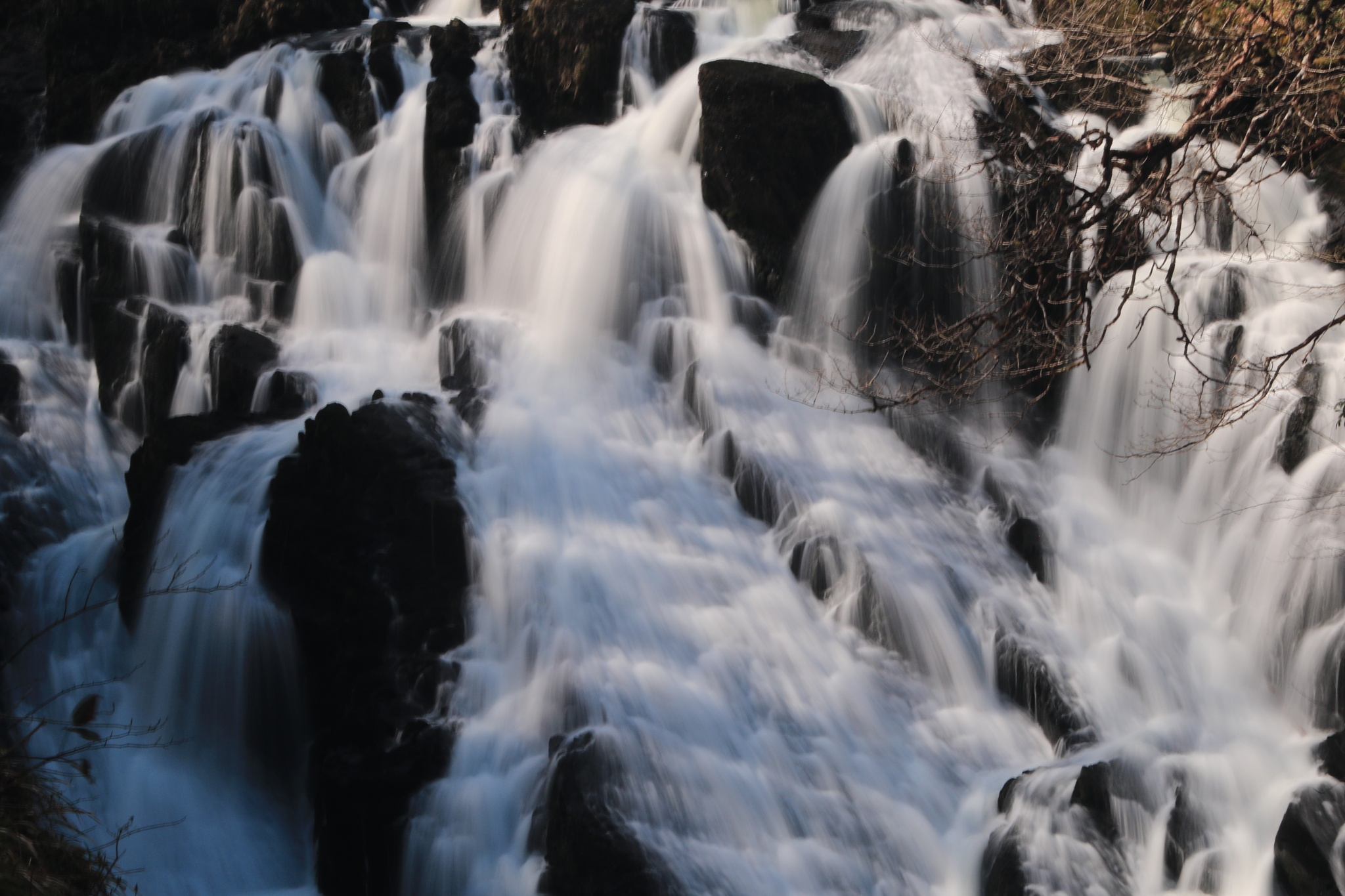 Swallow Falls North Wales by davehutchins