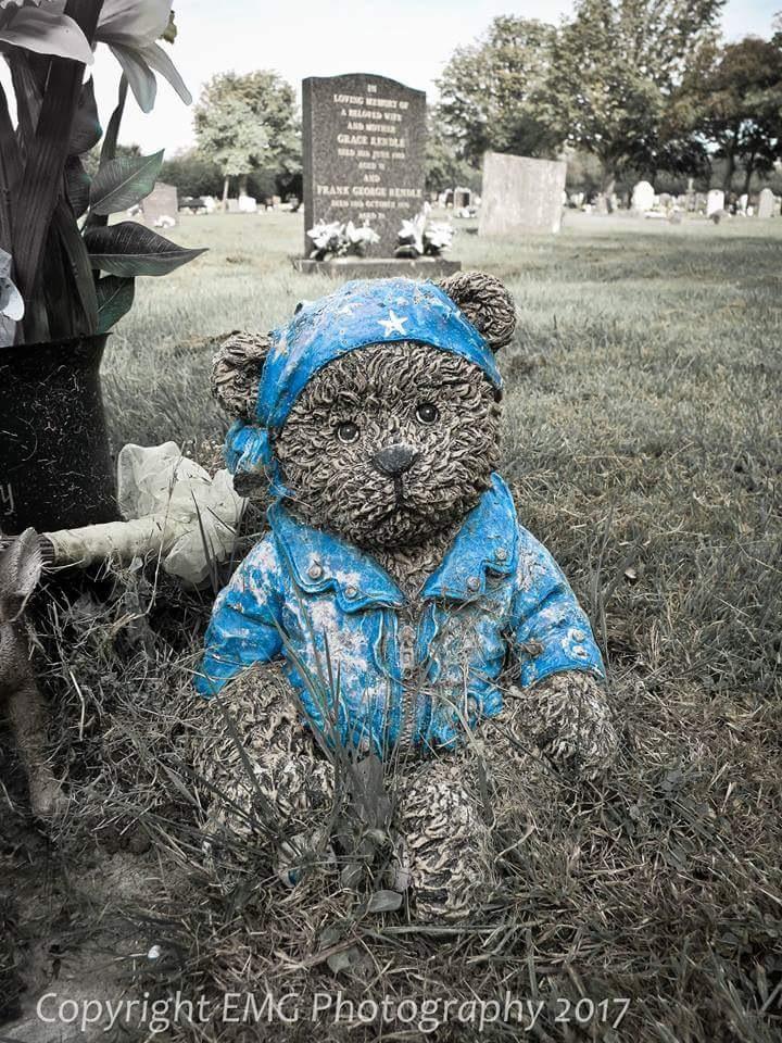 Stone bear  by elaine_gardener