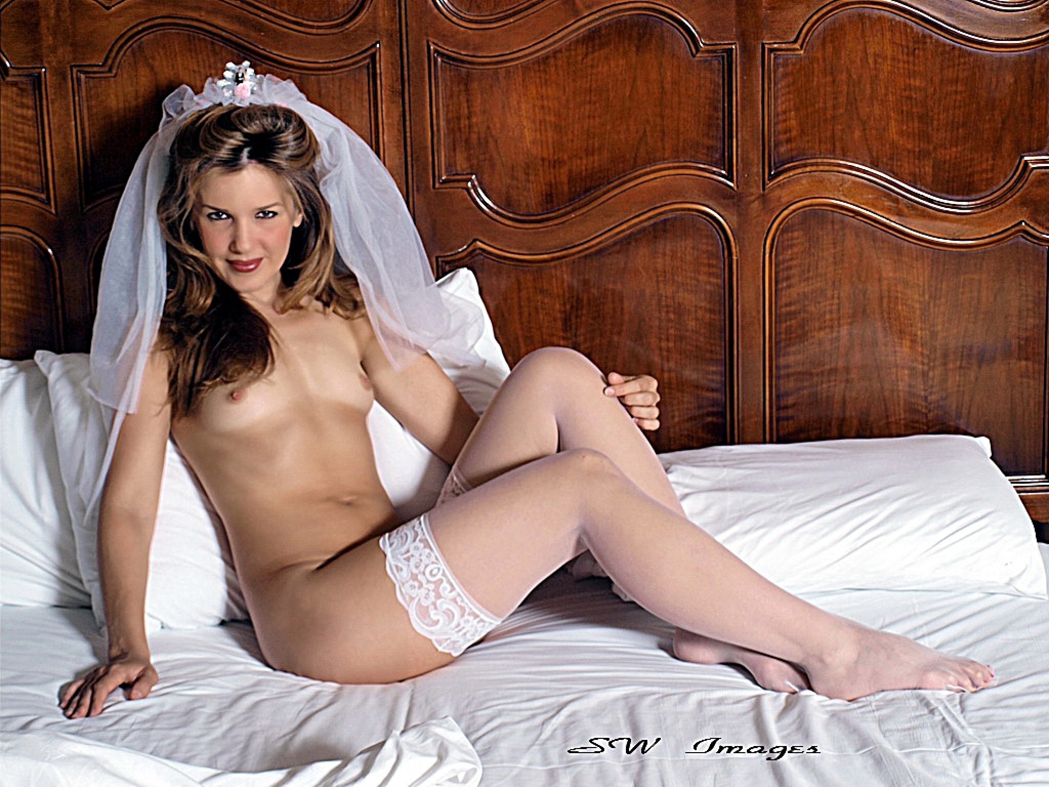 The Non Blushing Bride by swhiteimages