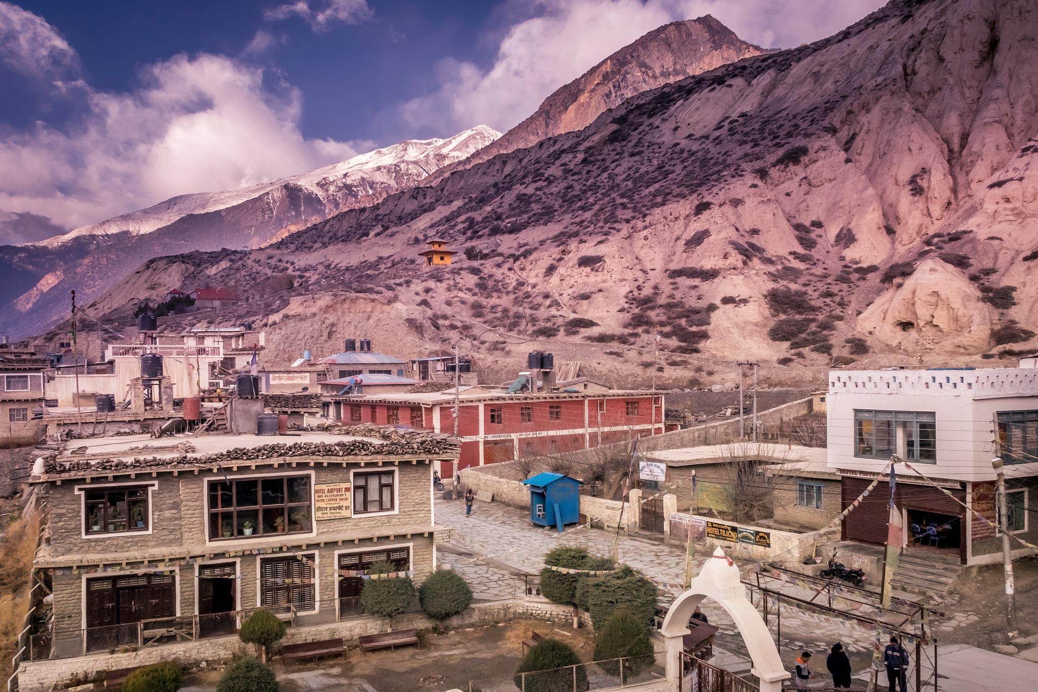 A Himalayan Town by sachin sawhney