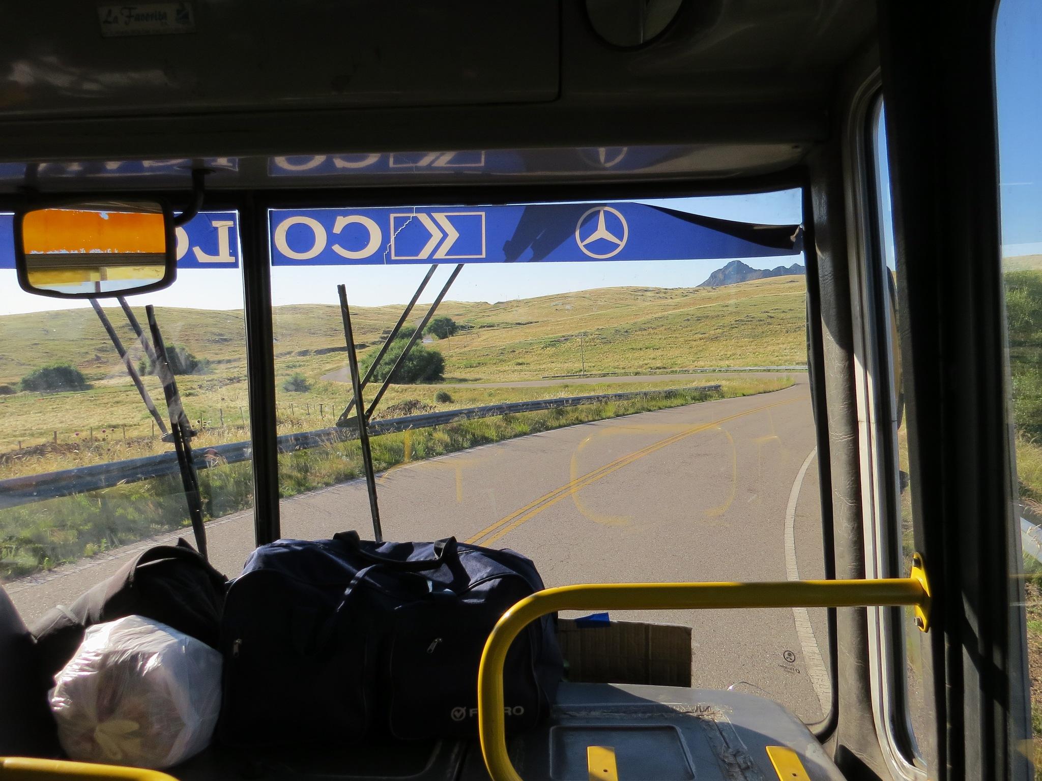 In the bus to La Carolina. by escorter1