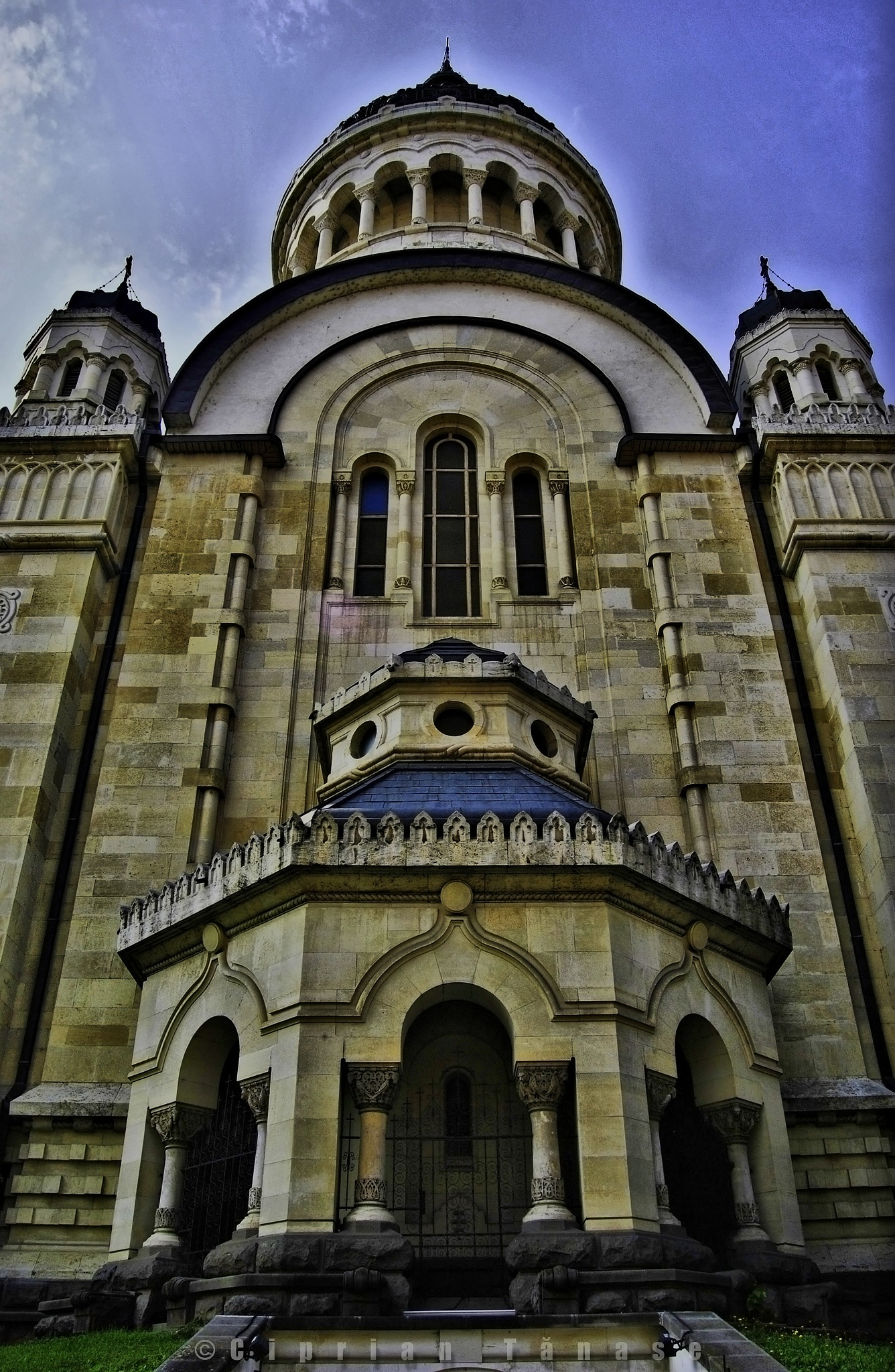 Dormition of the Theotokos Cathedral by Ciprian Tănase