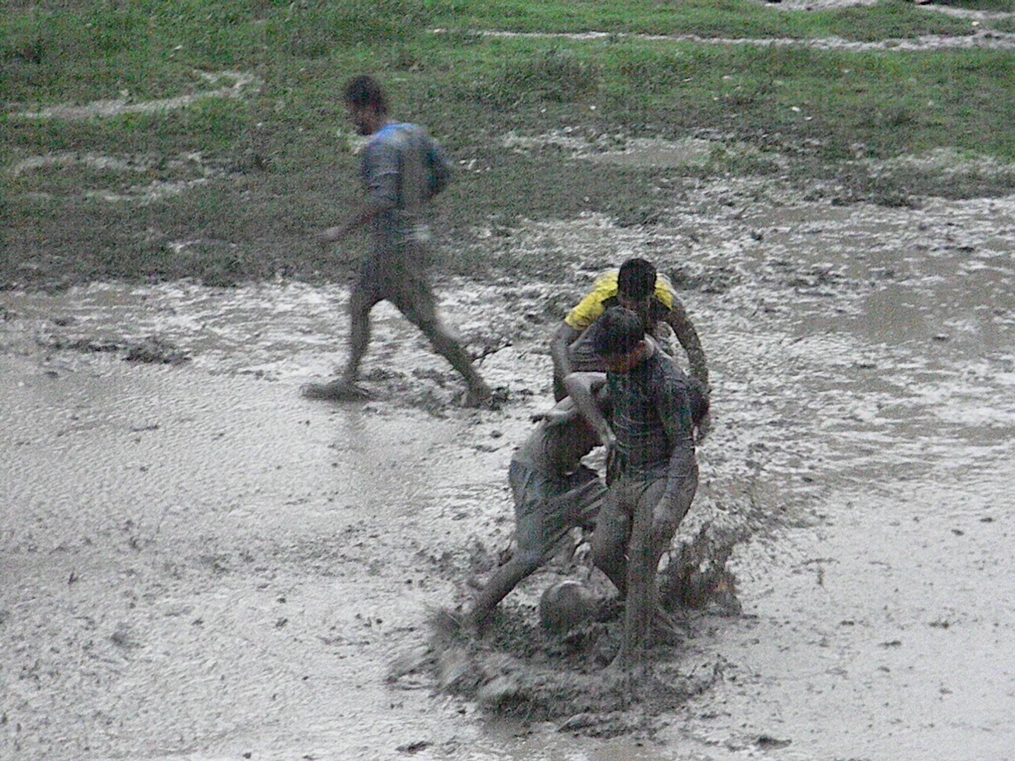 Rainy Football by prasenjitg1