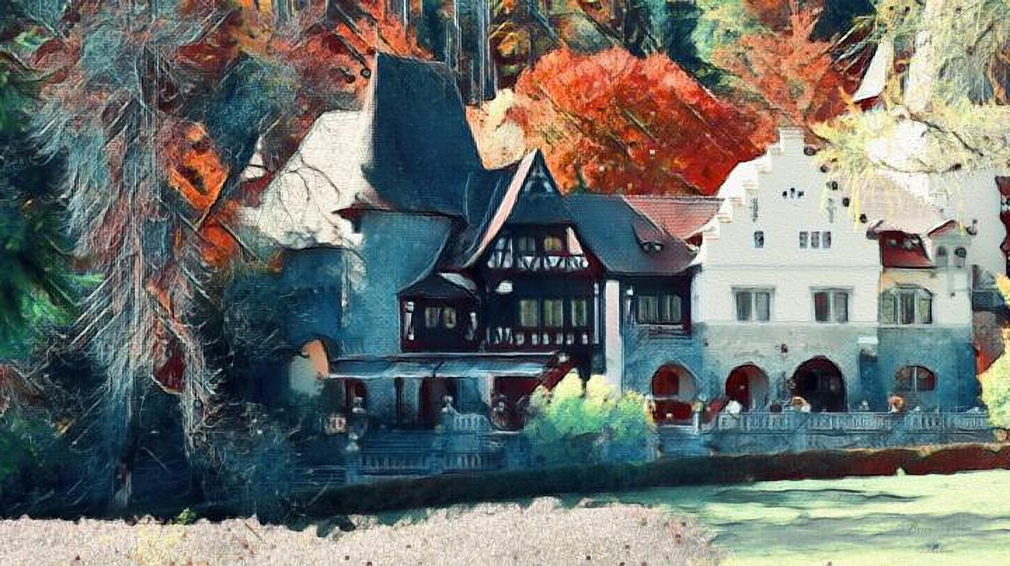 Autumn paint by Florian B