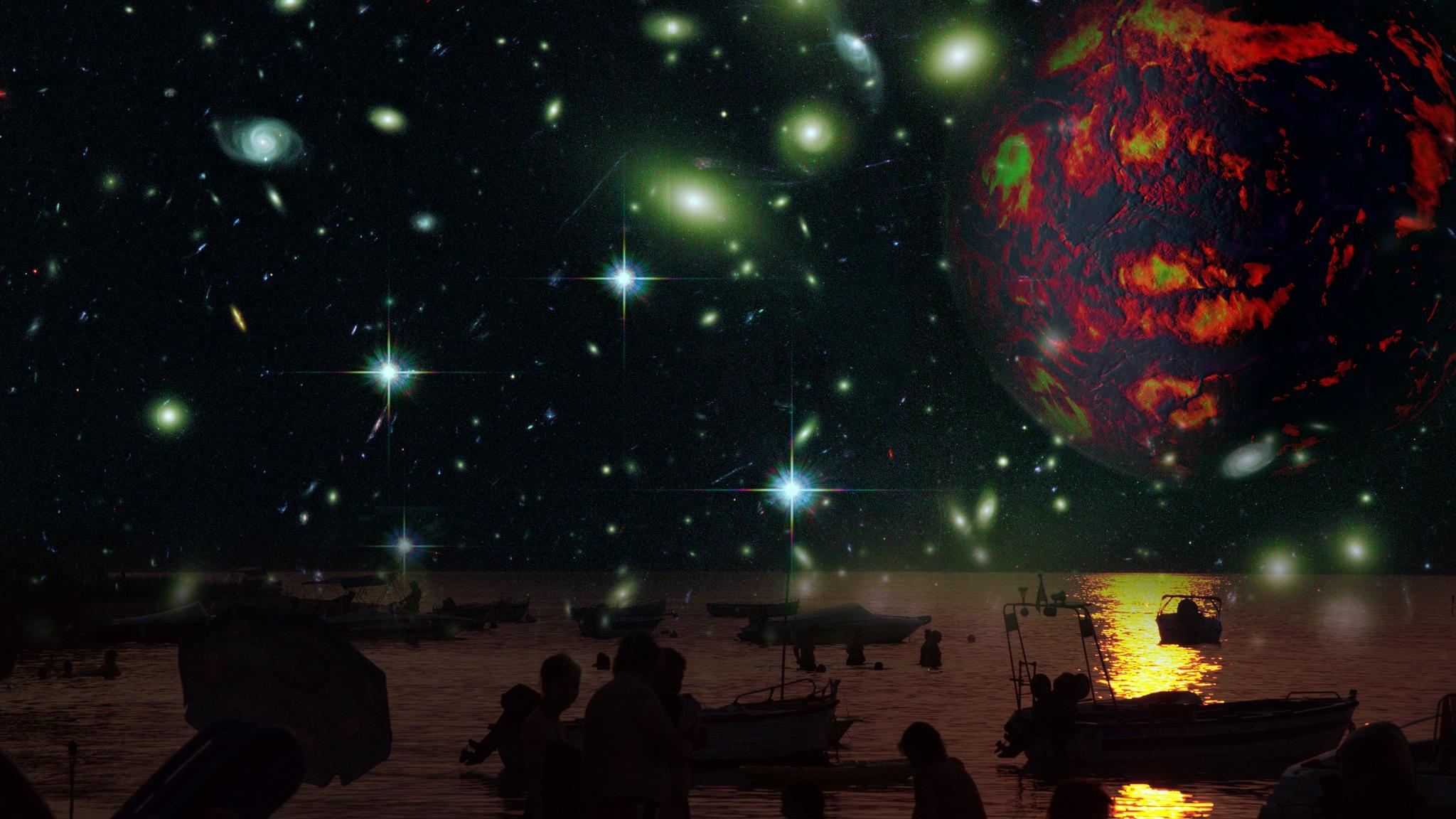 Future sky by Florian B