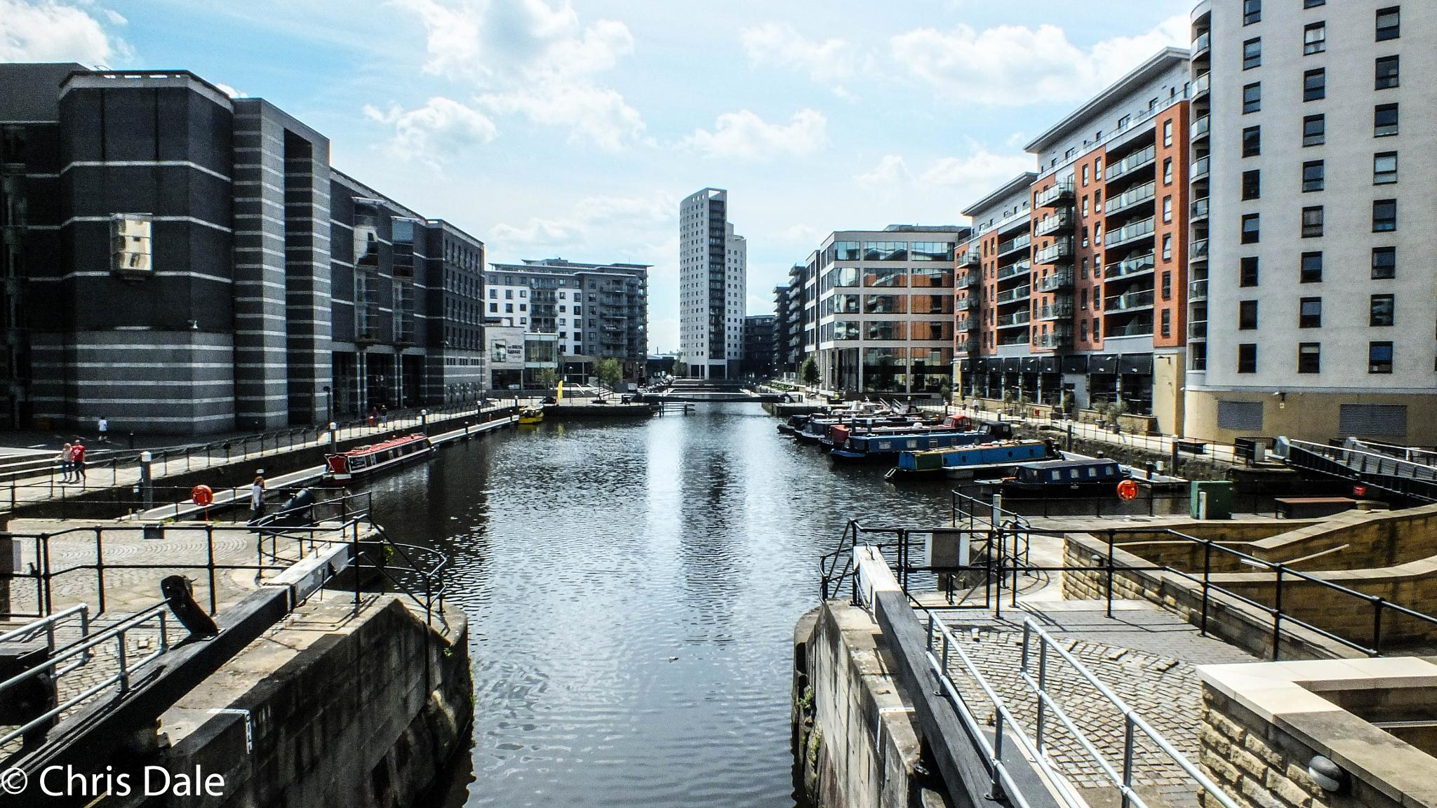 Beautiful Leeds Dock by Chris Dale