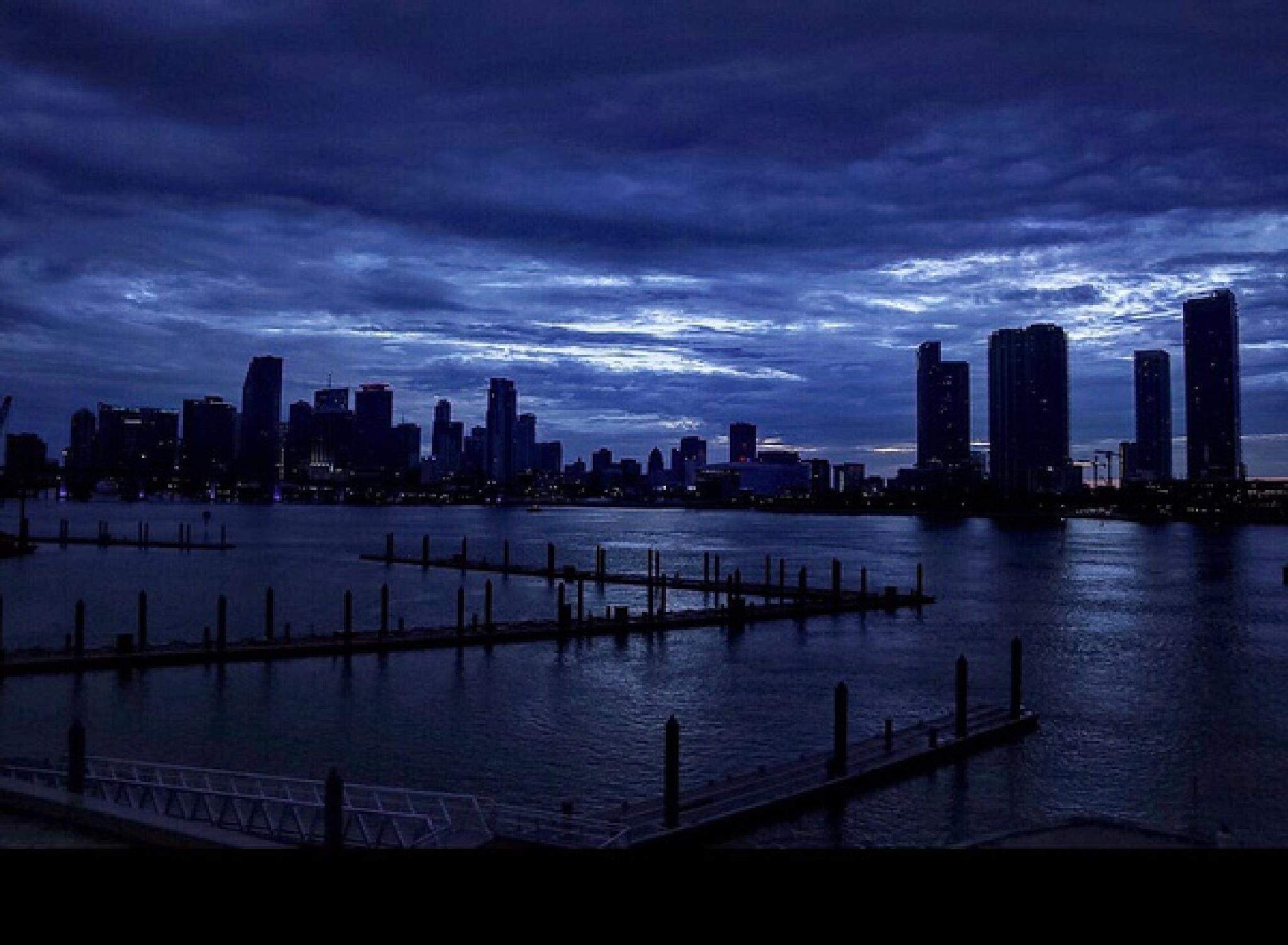 City at Night by Serge Kay