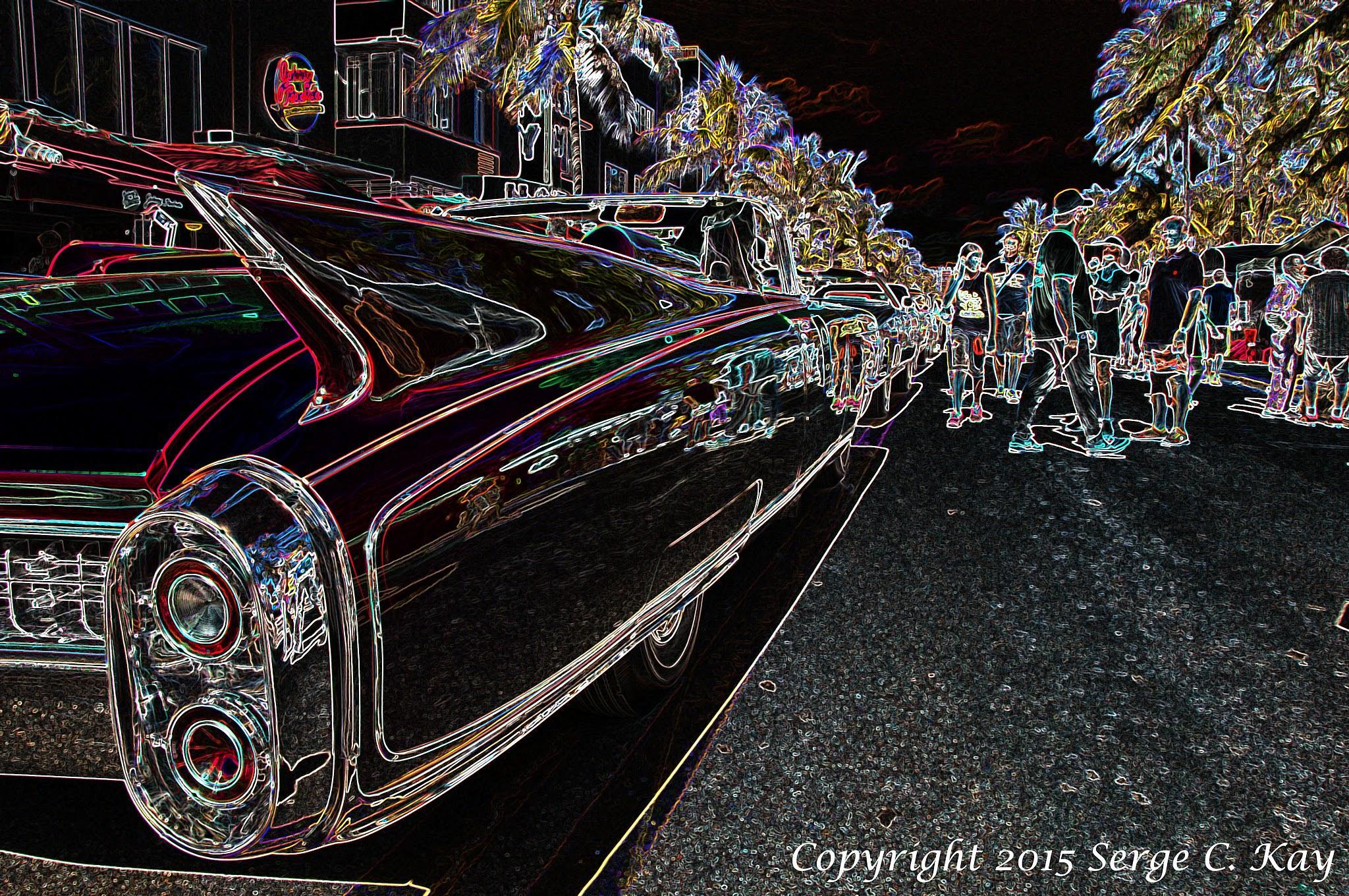 Deco Drive South Beach Miami by Serge Kay
