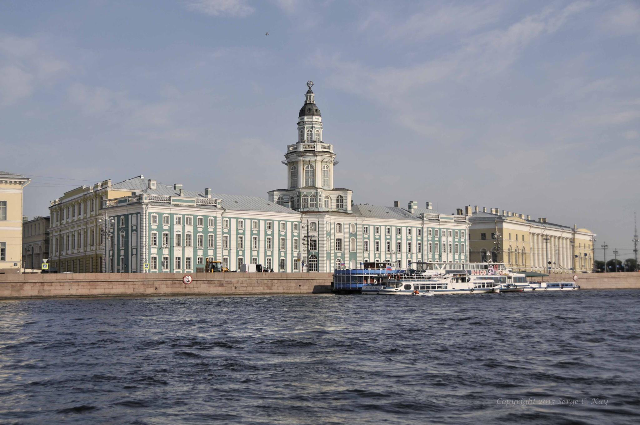 Hermitage St Petersburg by Serge Kay