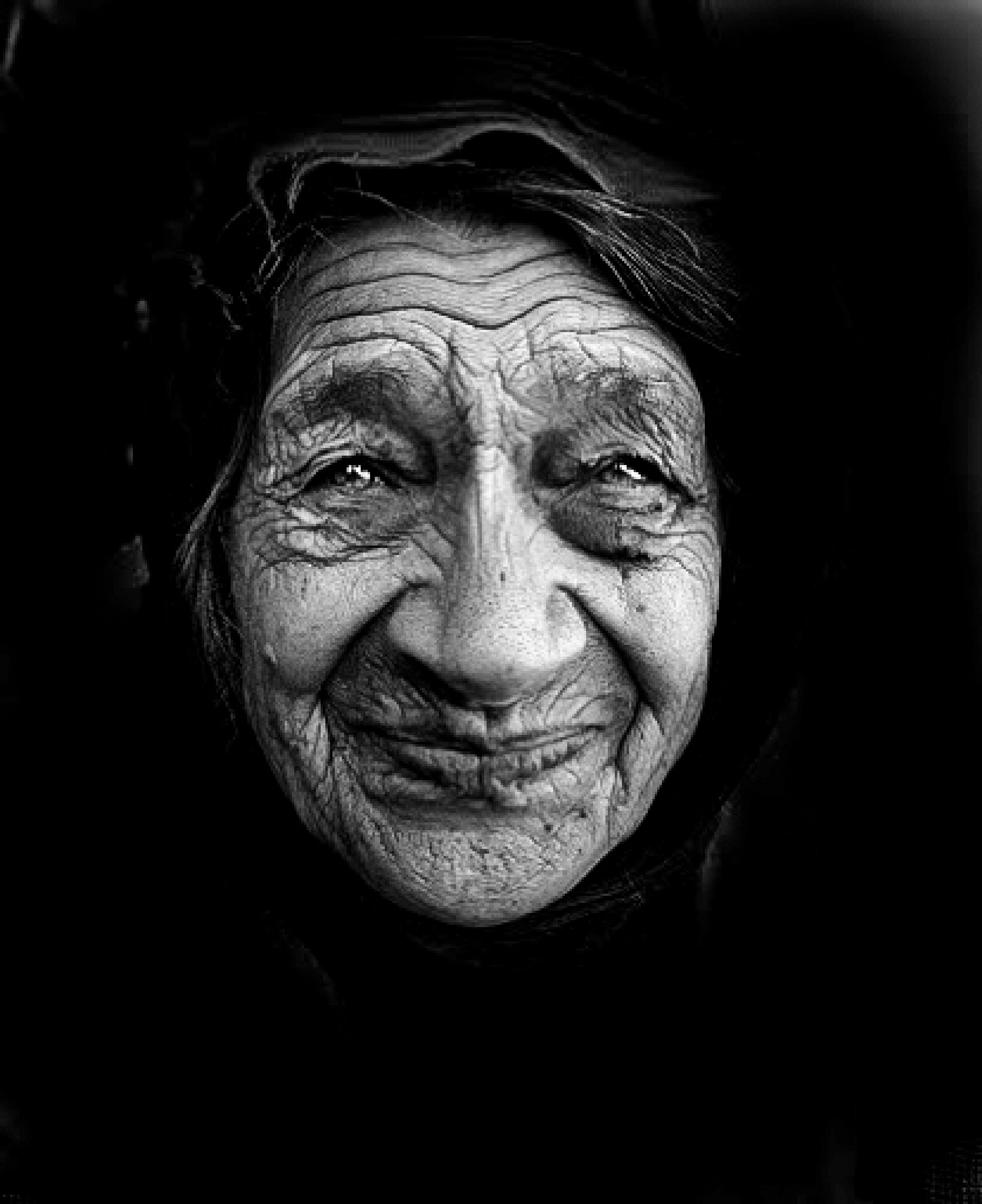 Old Woman 1 by Serge Kay