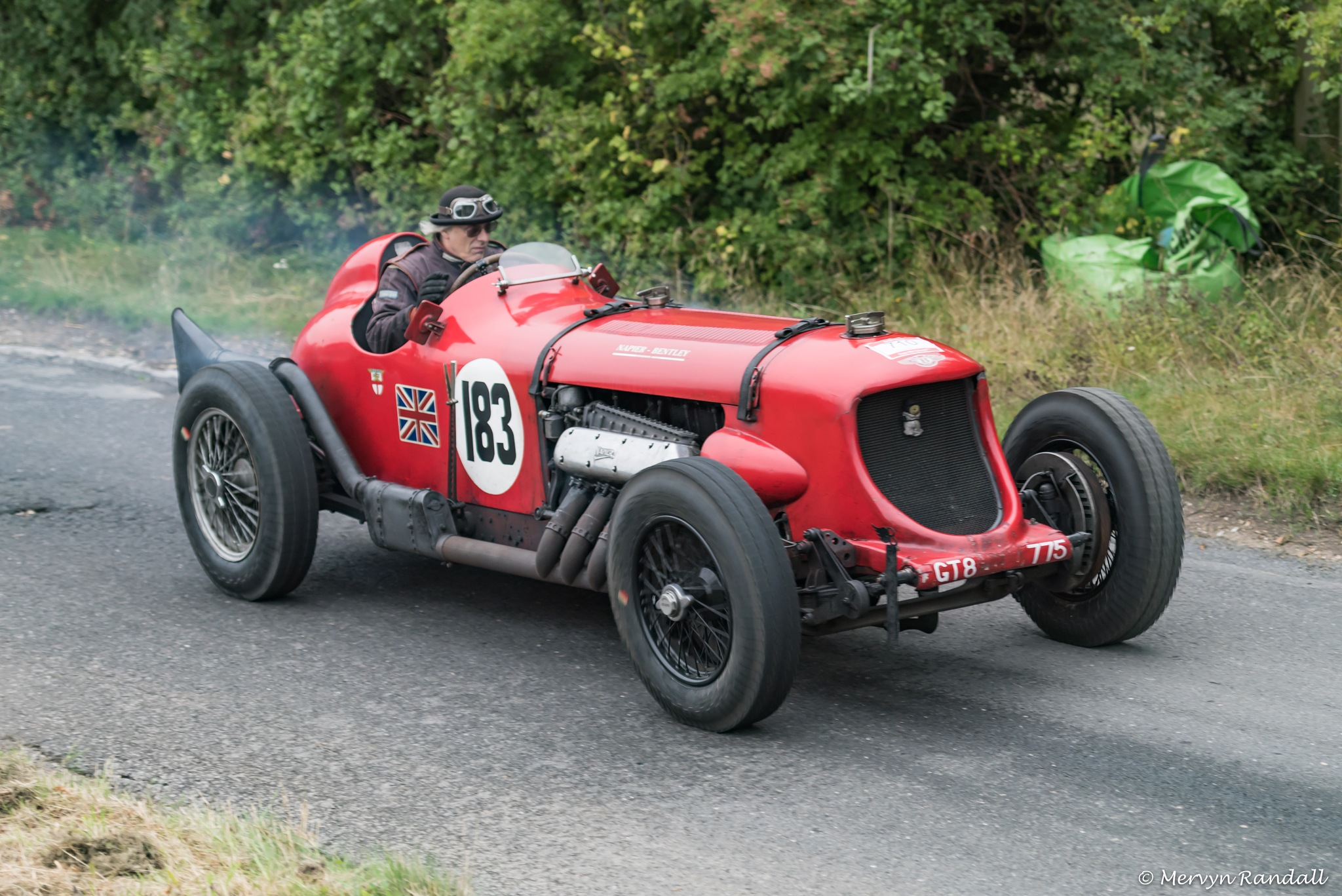 1929 Napier Bentley Racing 24ltr by mervyn Randall