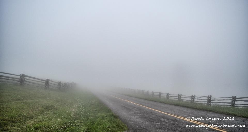 Foggy Road by Bonita Loggins