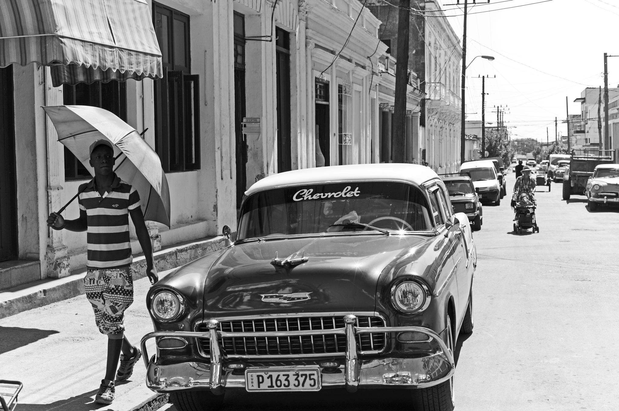Old Chevrolet in Cienfuegos Cuba by le-chapelier.alain