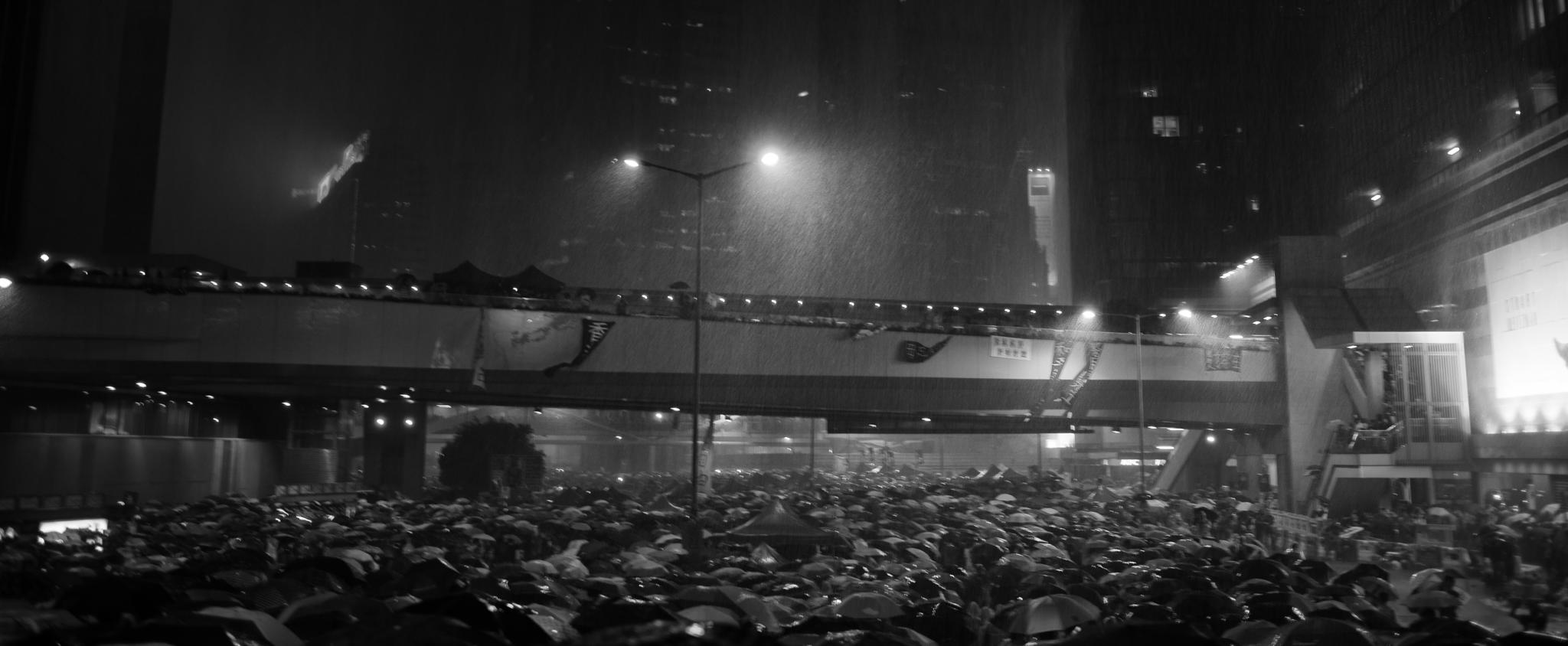 Umbrella Revolution, Hong Kong 2014 by Dickens Lum