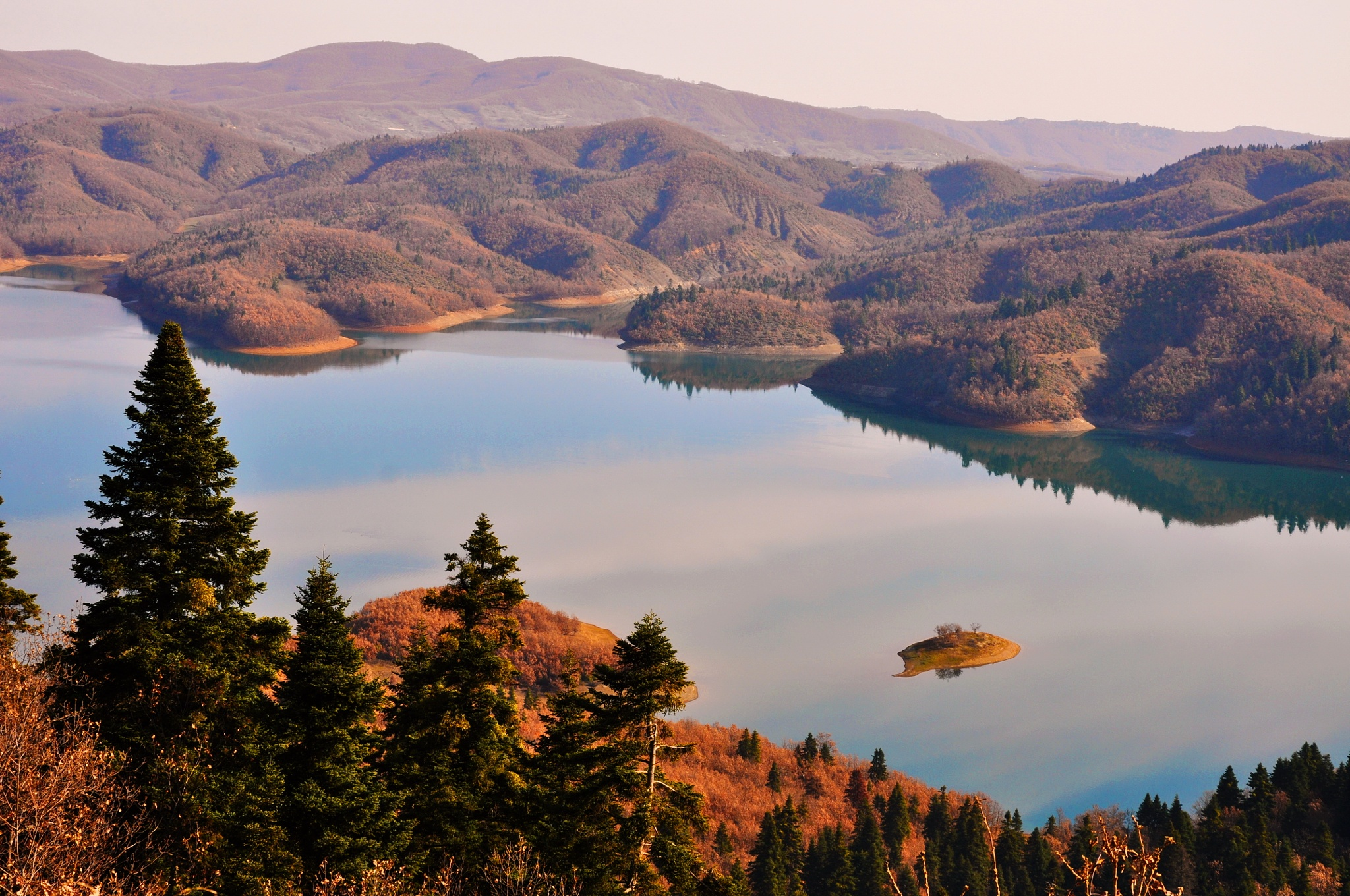 Plastira lake (2) by naxoslisa
