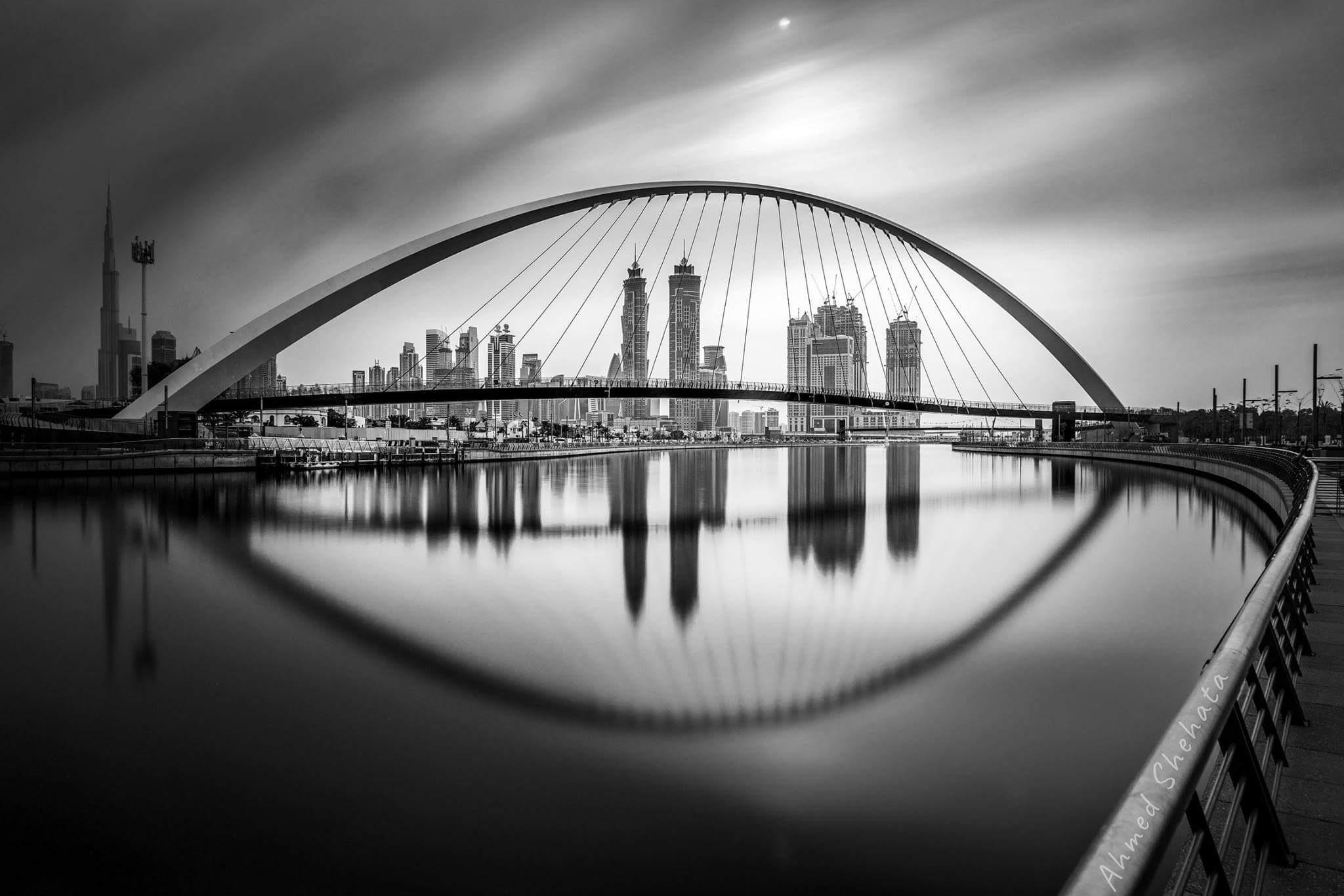 Dubai canal  by AhmedShehata