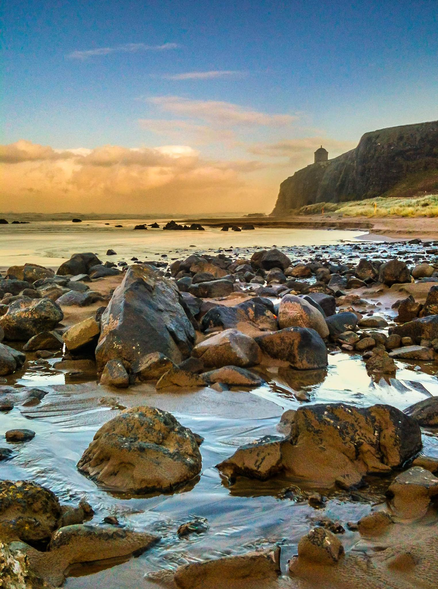 Downhill Beach, Northern Ireland by Peter McCormack
