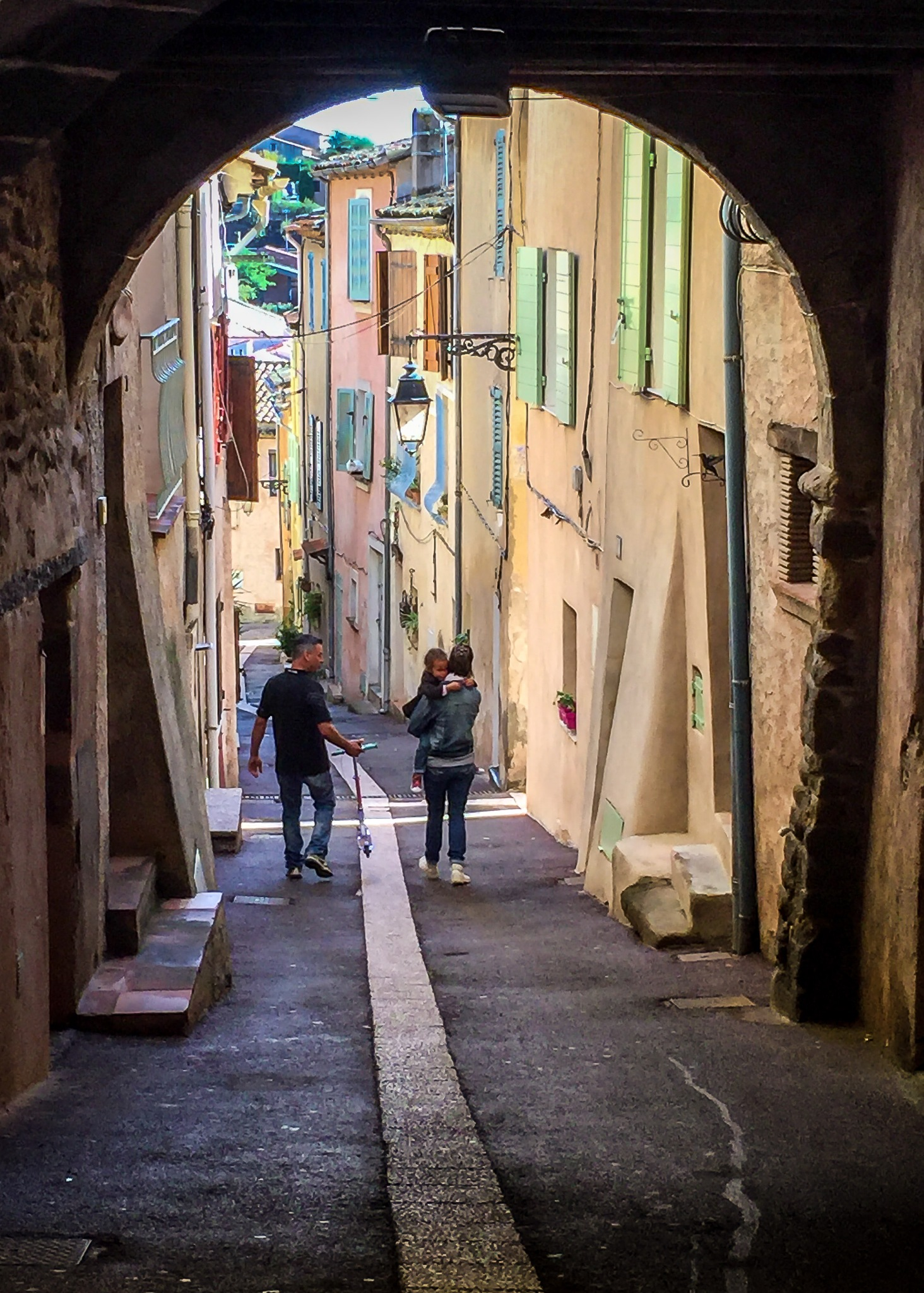 Street in Roquebrune-sur-Argens by Peter McCormack
