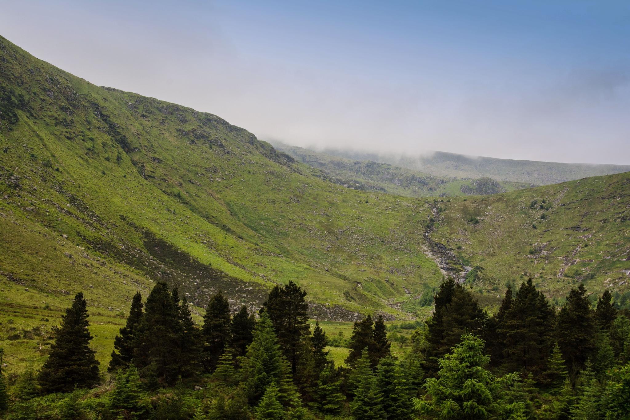 Wicklow mountains by jonjodun