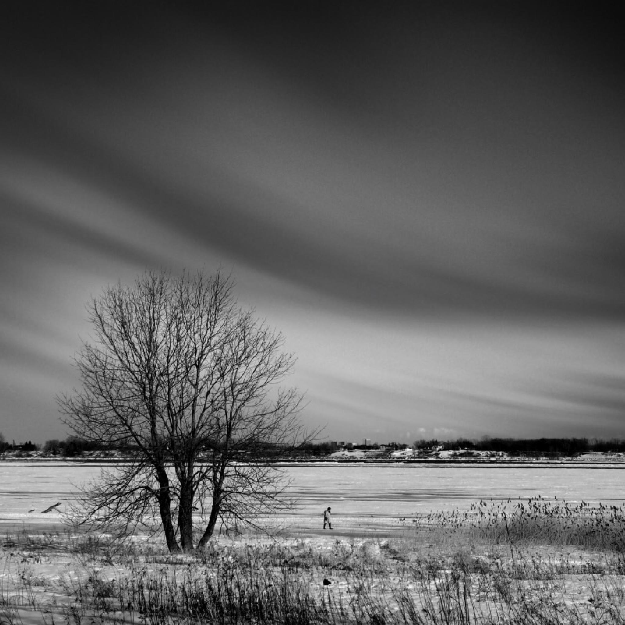 Walking on ice by tikotak2014