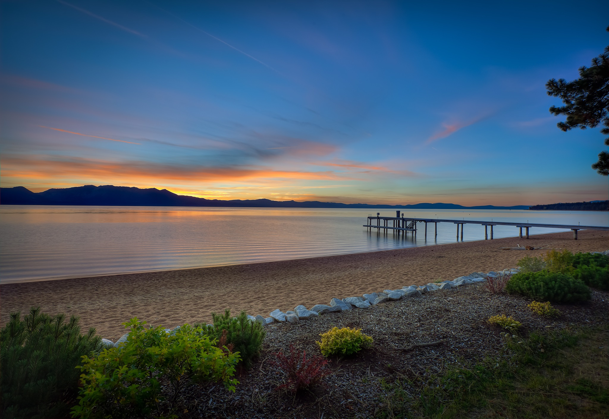 Lake Tahoe Sunset by Nathan Enriquez, Get Your View.com