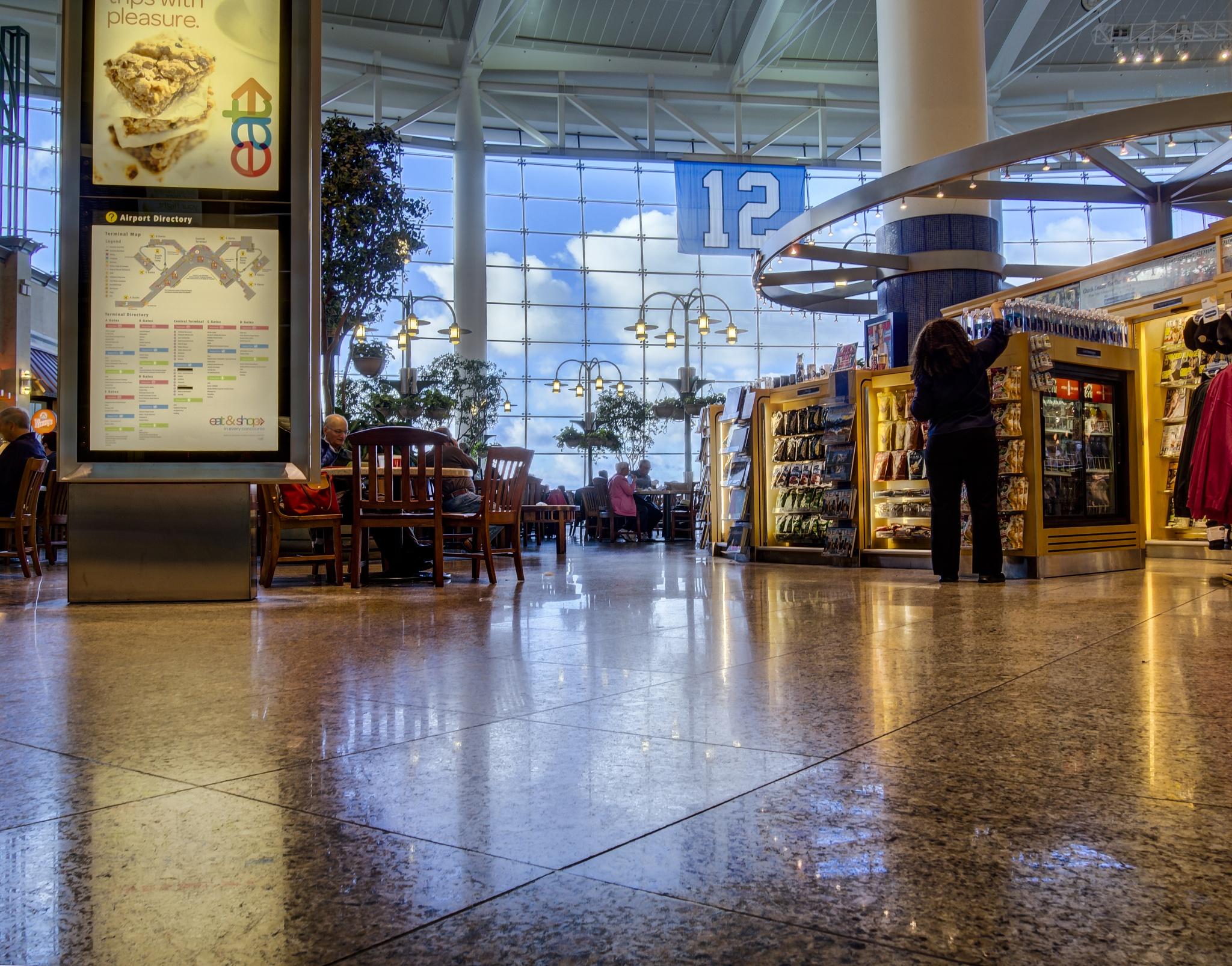 Seattle Airport Food Court by skchristensen6982