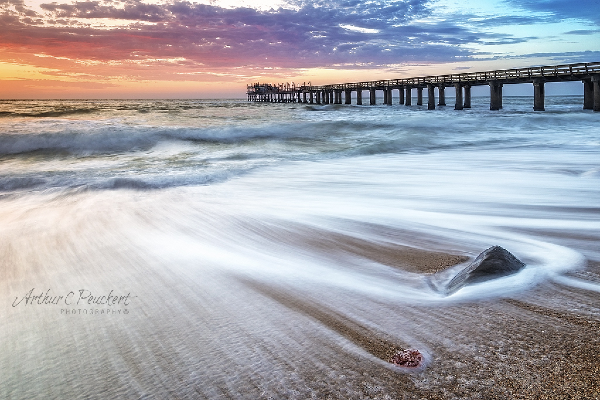 Jetty at Dusk by arty999