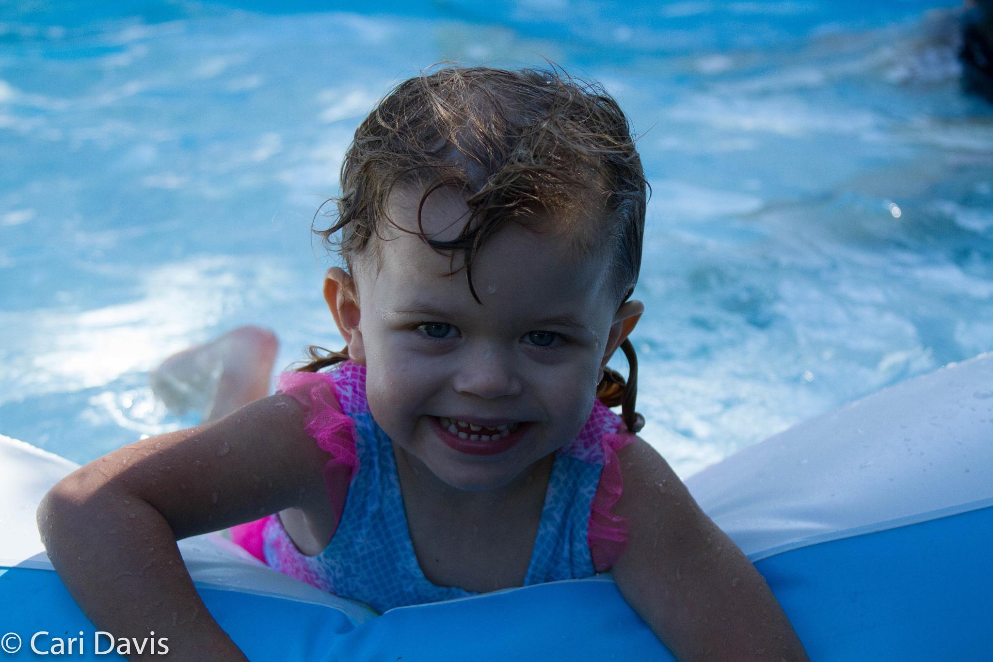 4th of July Pool Time by Kiki