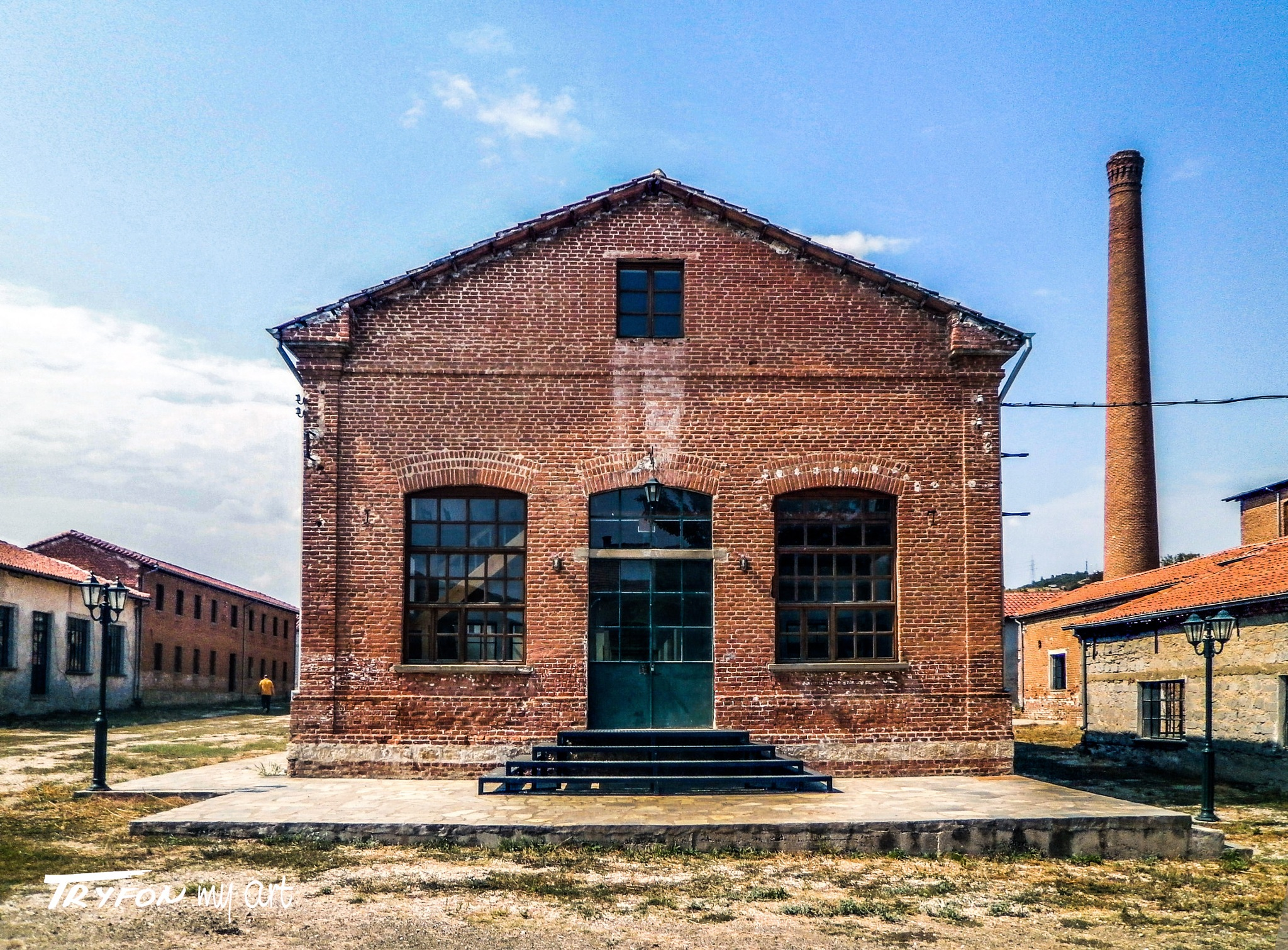 Factory for silk museum - (1920) - 01. by tryfongraphics