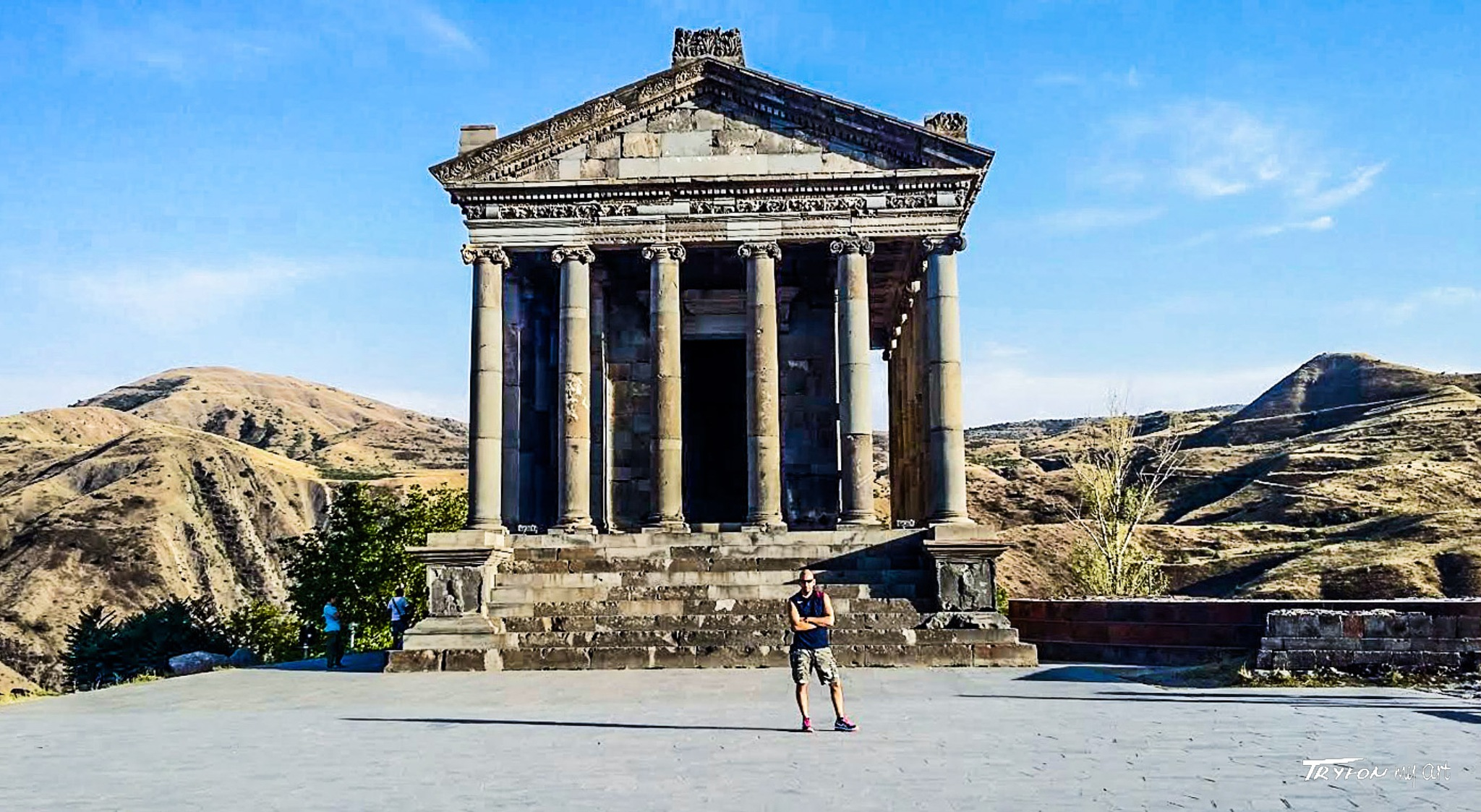 Temple of Artemis. by tryfongraphics