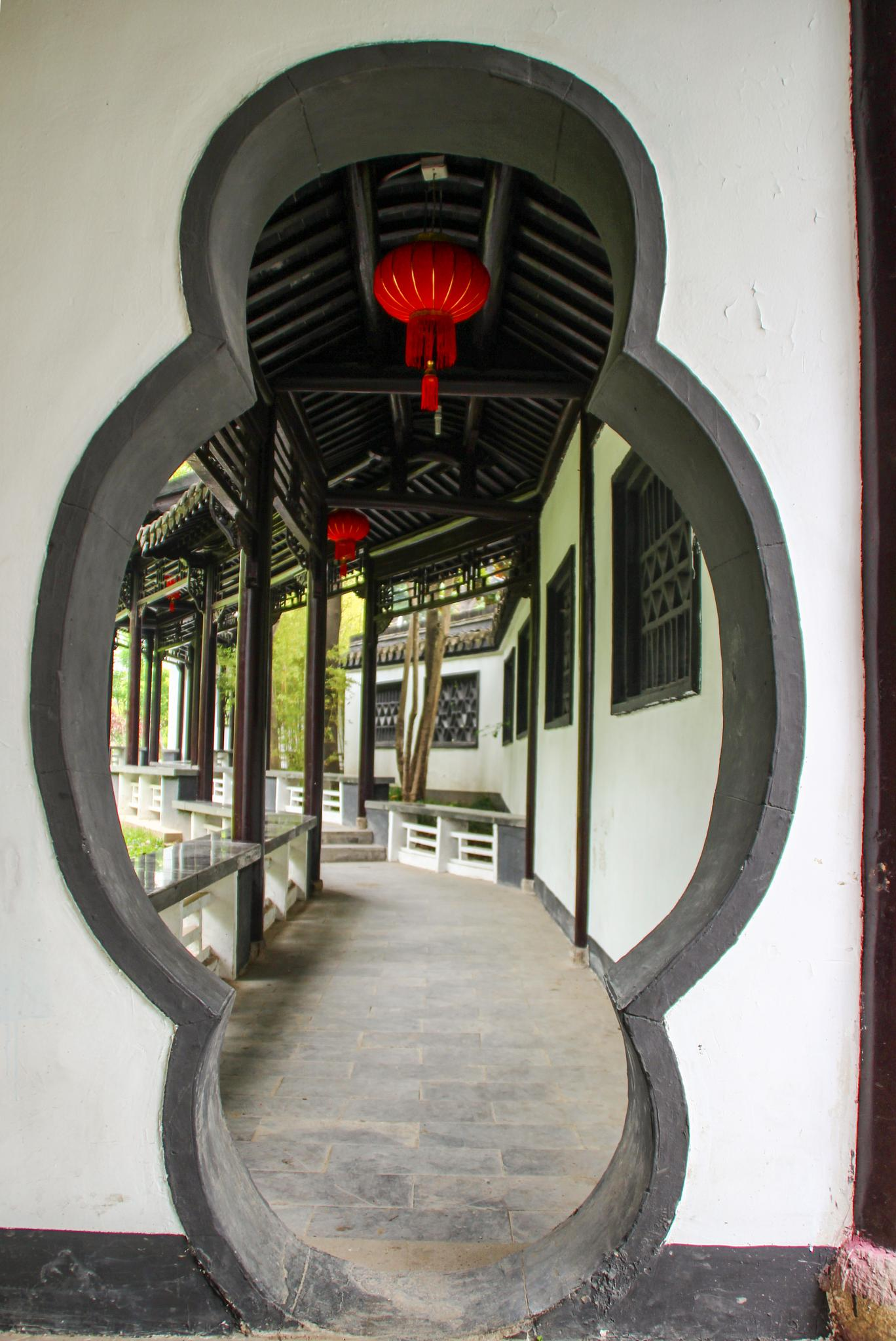 The entrance by Judith Calingayan
