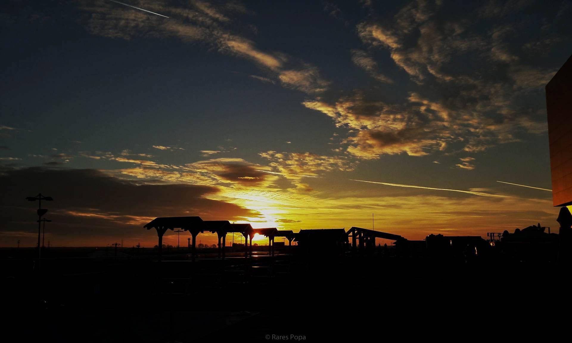 Beautiful sunset. by Rarees