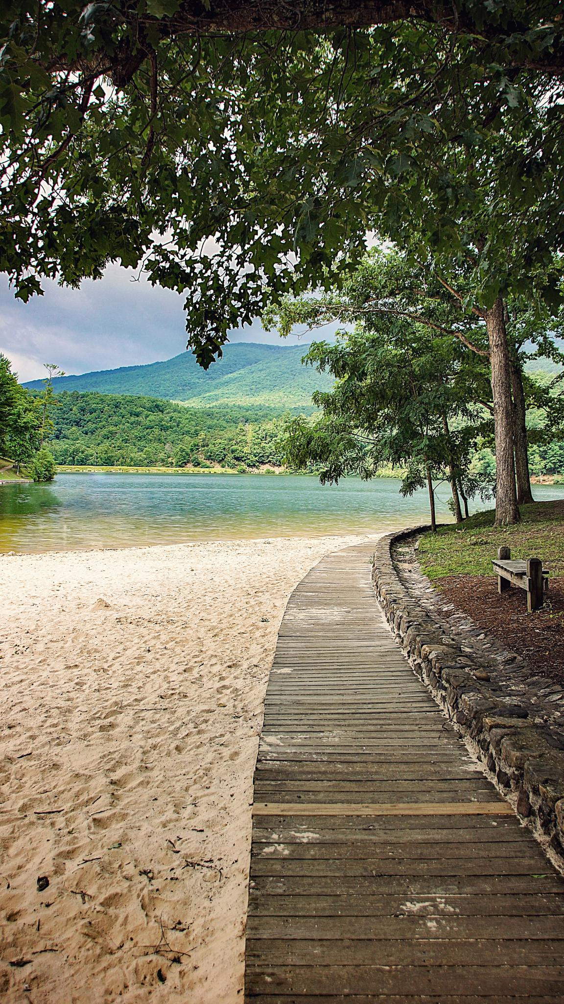 Douthat State Park by Mary Wolfe