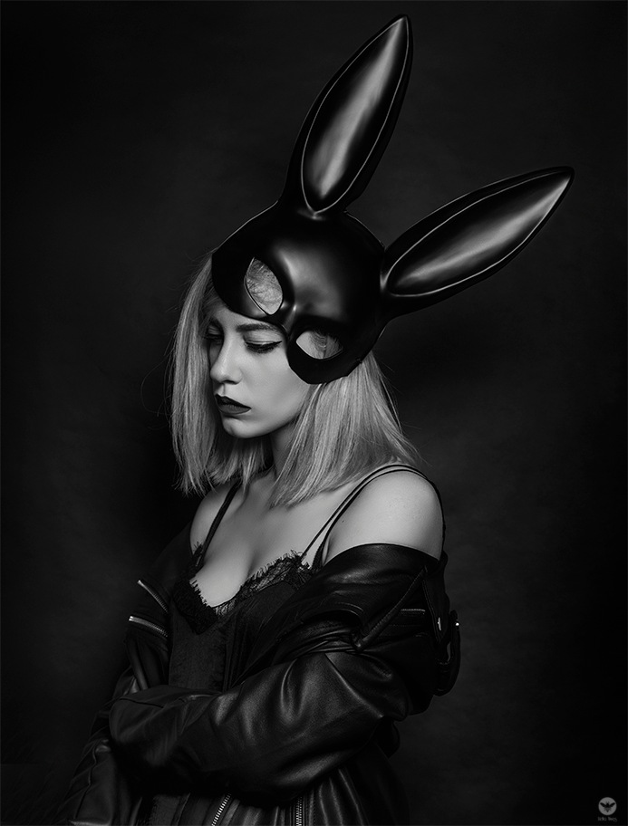 Black Rabbit by lillycanson