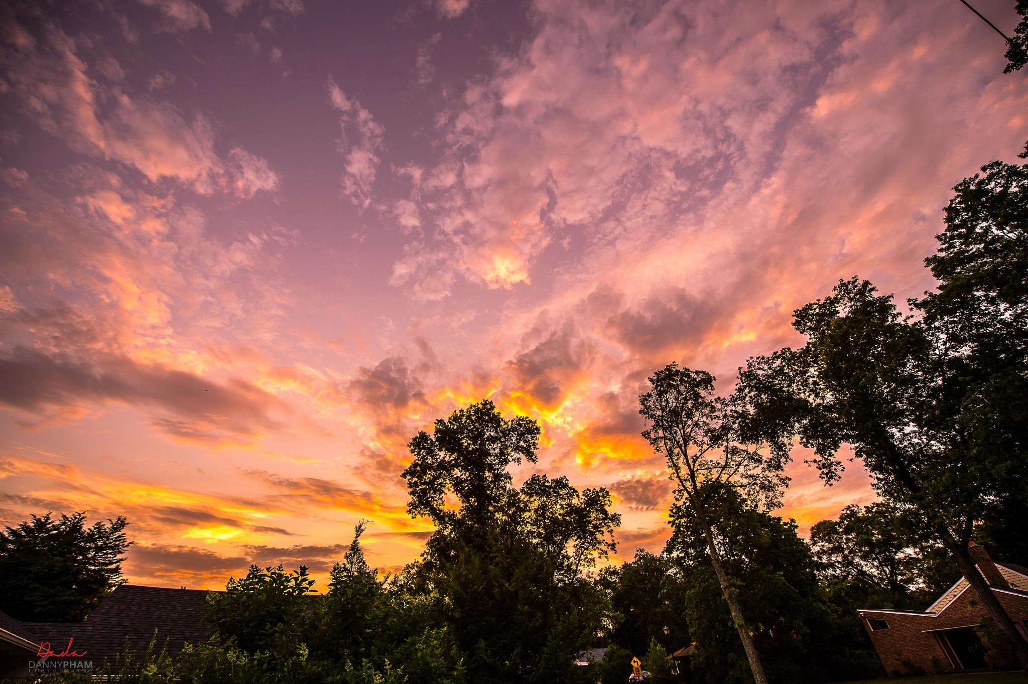 Another beautiful Sunset by Danny Pham