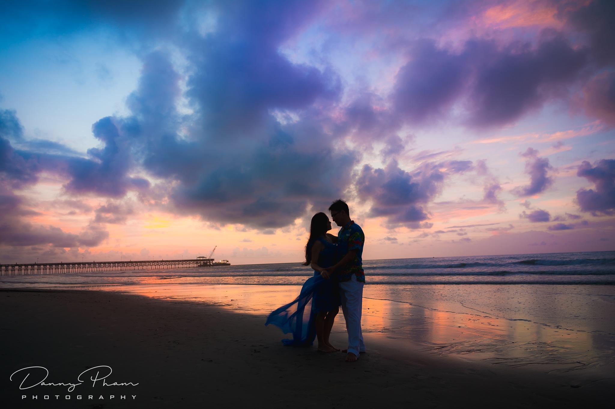 Sunrise @ Myrtle Beach, SC by Danny Pham