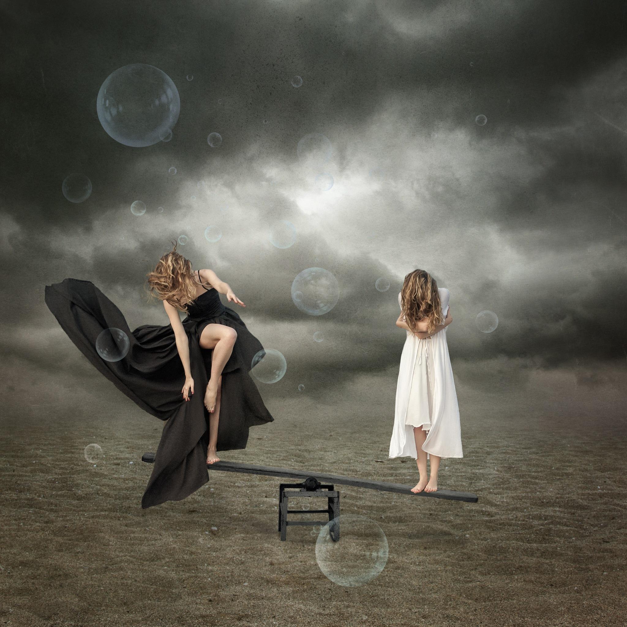 Fear or Curiosity by tradimitrova
