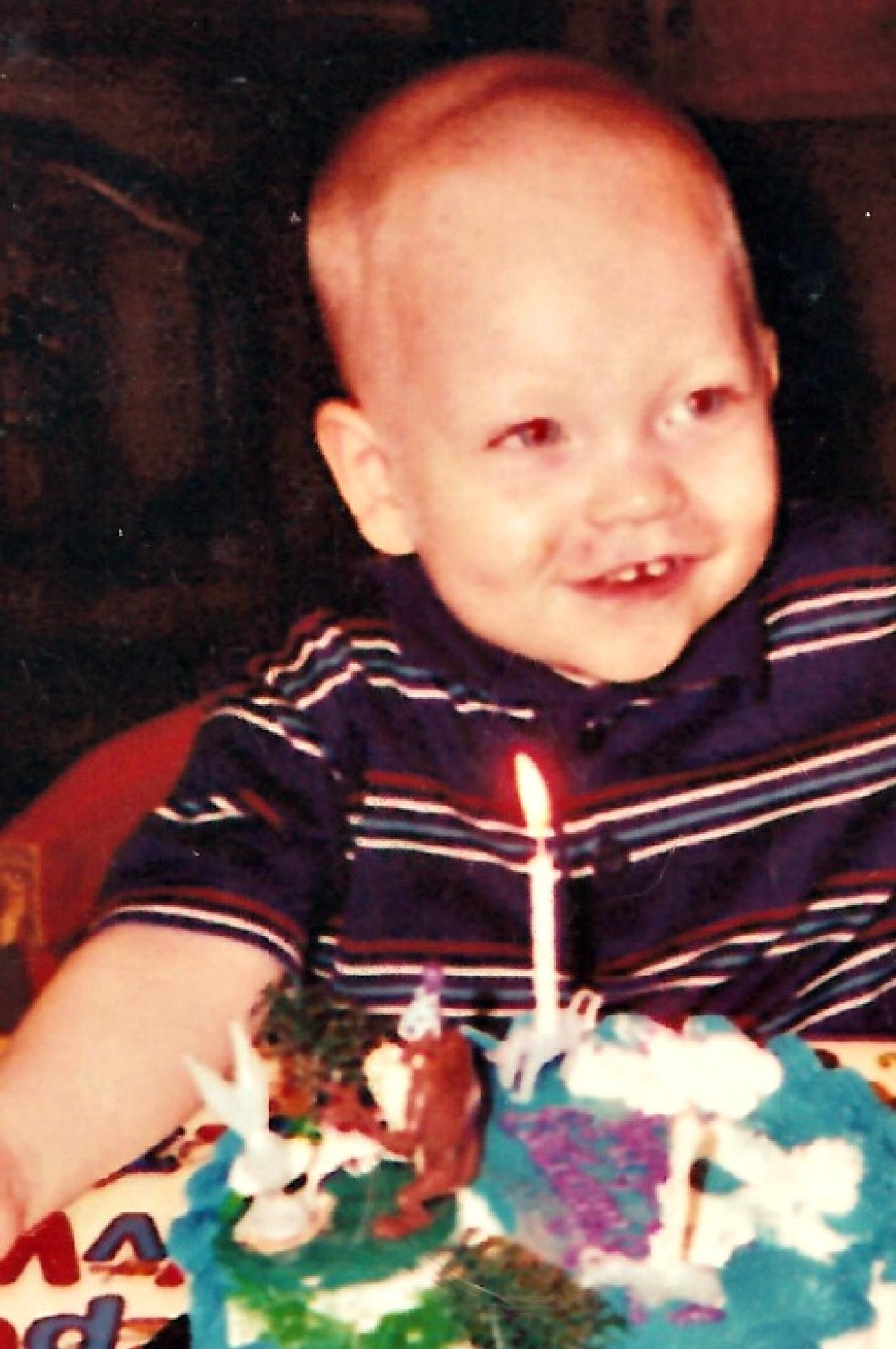 JC's 1st Birthday 1997 by cheryl.lowery.r