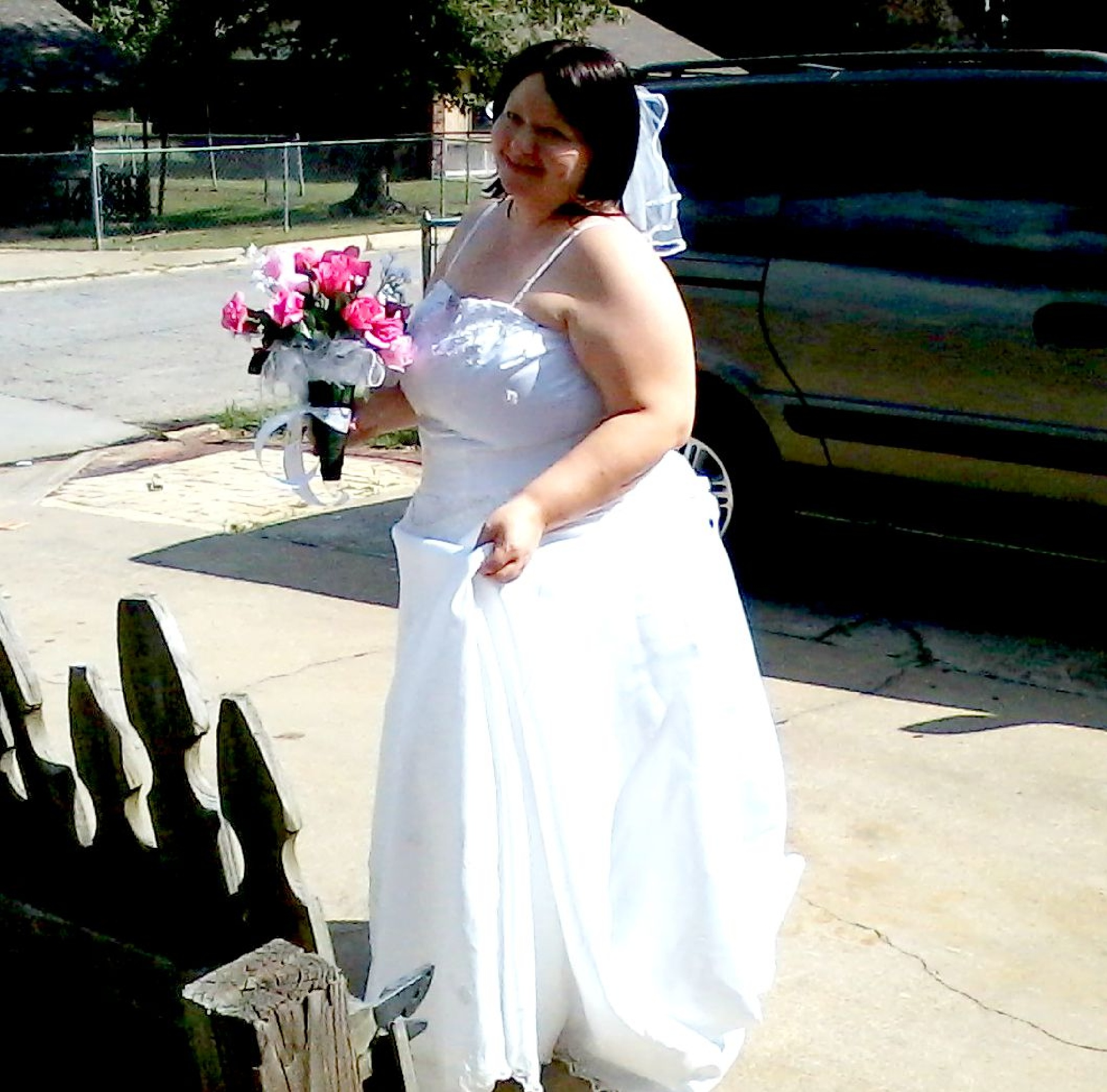 Me in Wedding Dress by cheryl.lowery.r